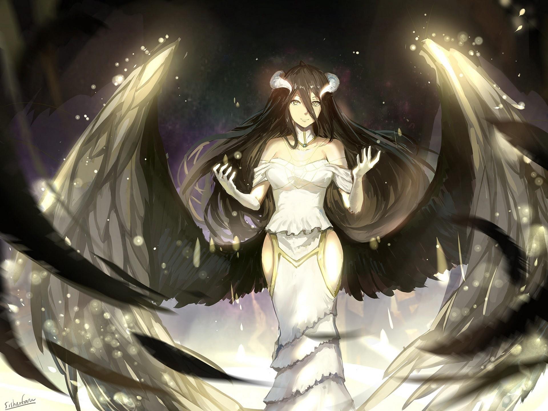 Anime – Overlord Albedo (Overlord) Overlord (Anime) Wallpaper