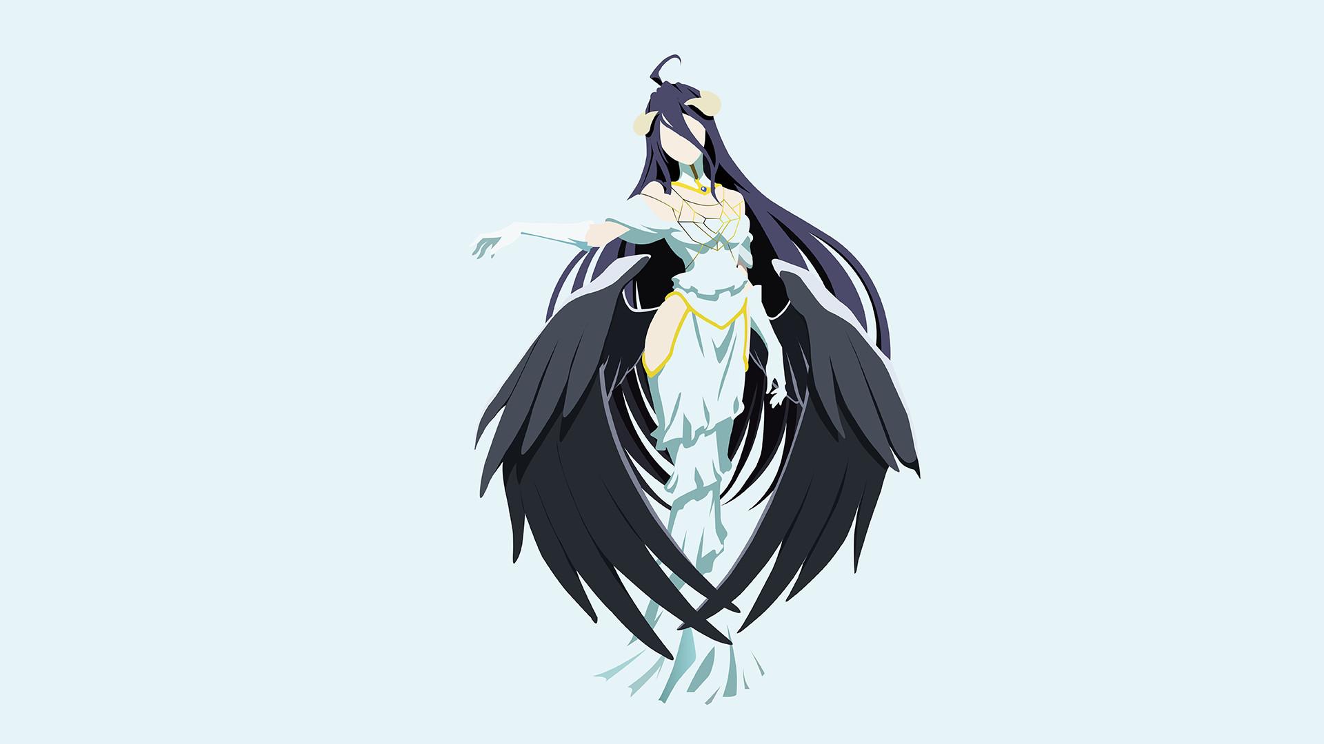 Anime – Overlord Albedo (Overlord) Overlord (Anime) Bakgrund