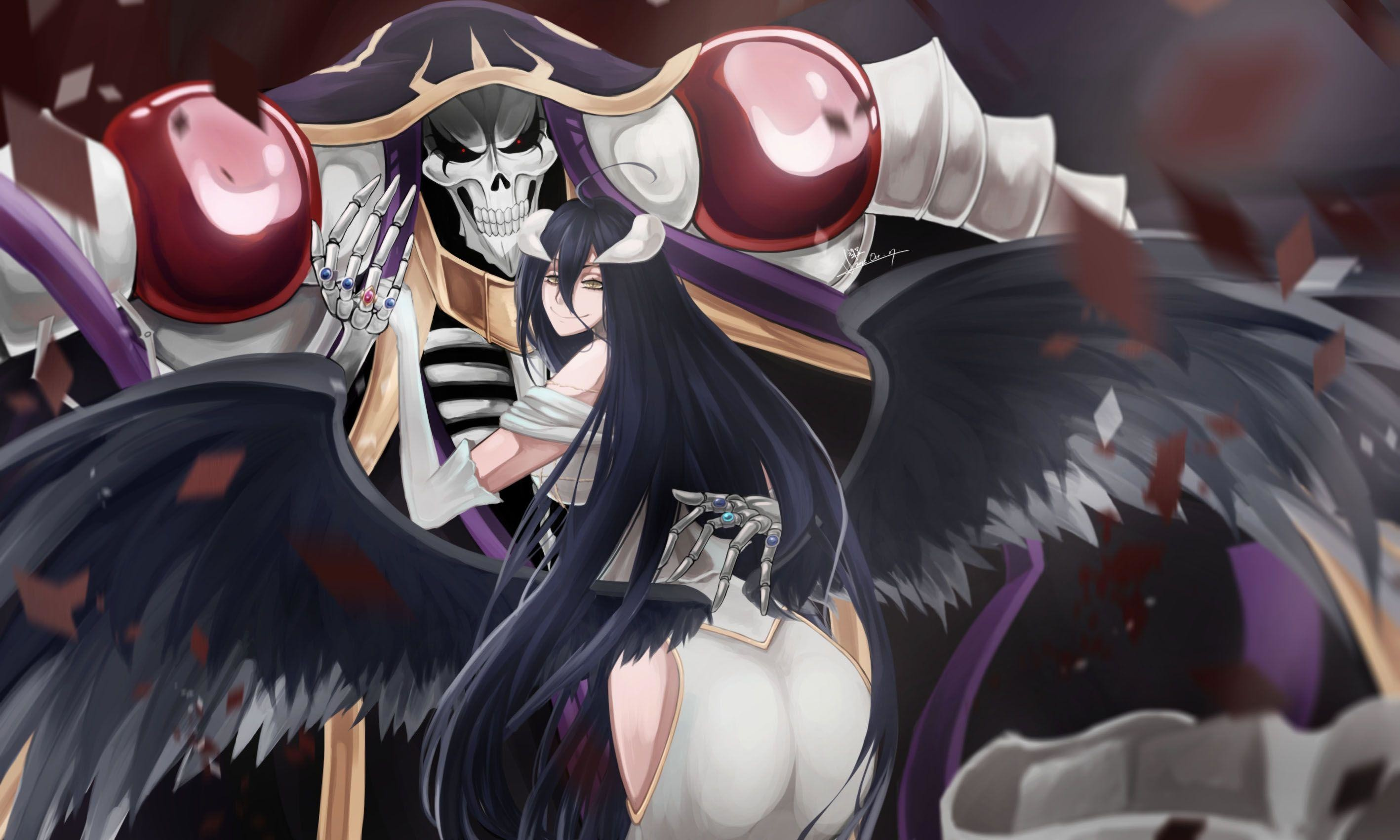 49 Albedo (Overlord) HD Wallpapers   Backgrounds – Wallpaper Abyss .