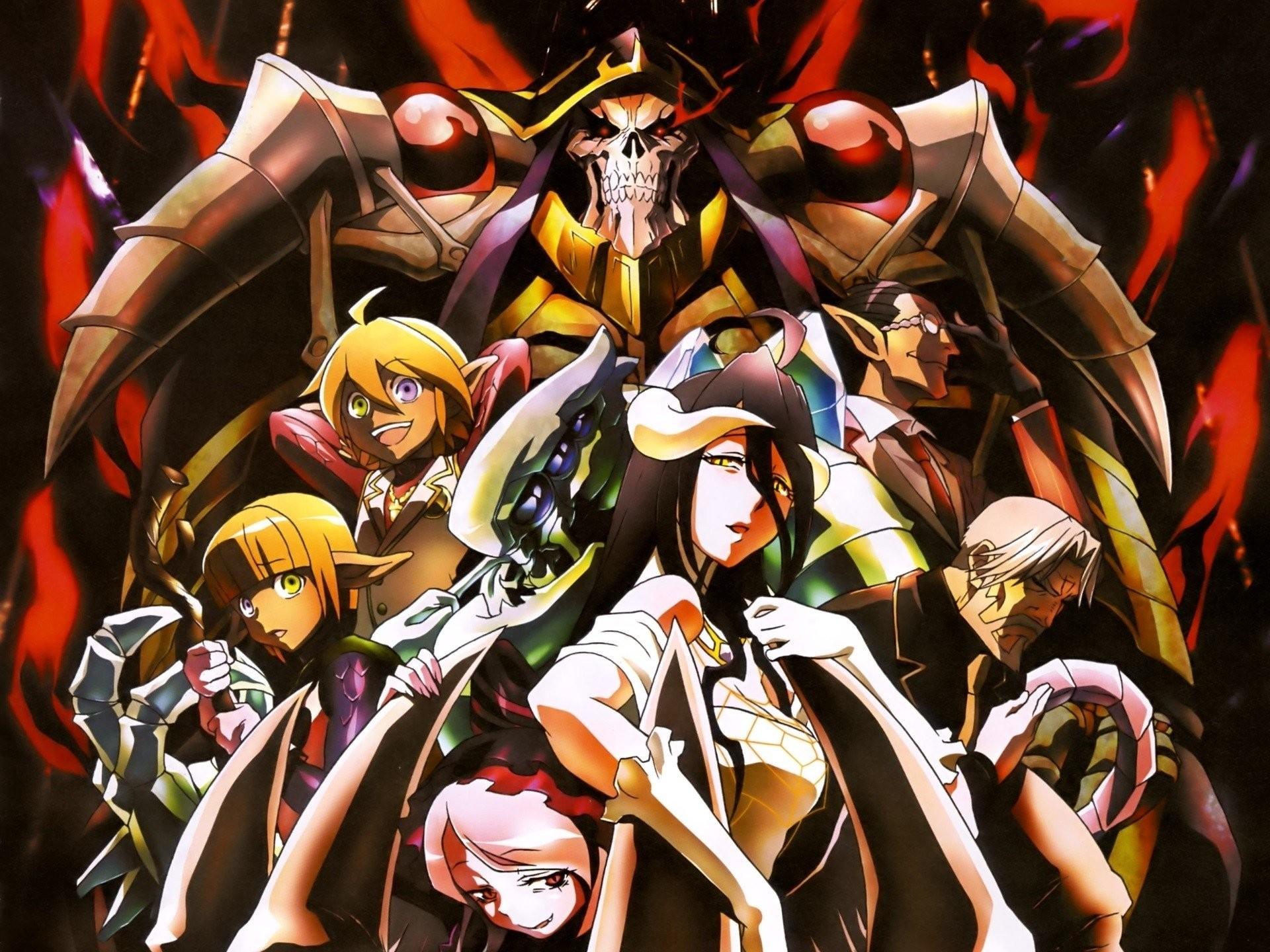 Anime – Overlord Sebas Tian Mare Bello Fiore Aura Bella Fiora Cocytus ( Overlord) Demiurge