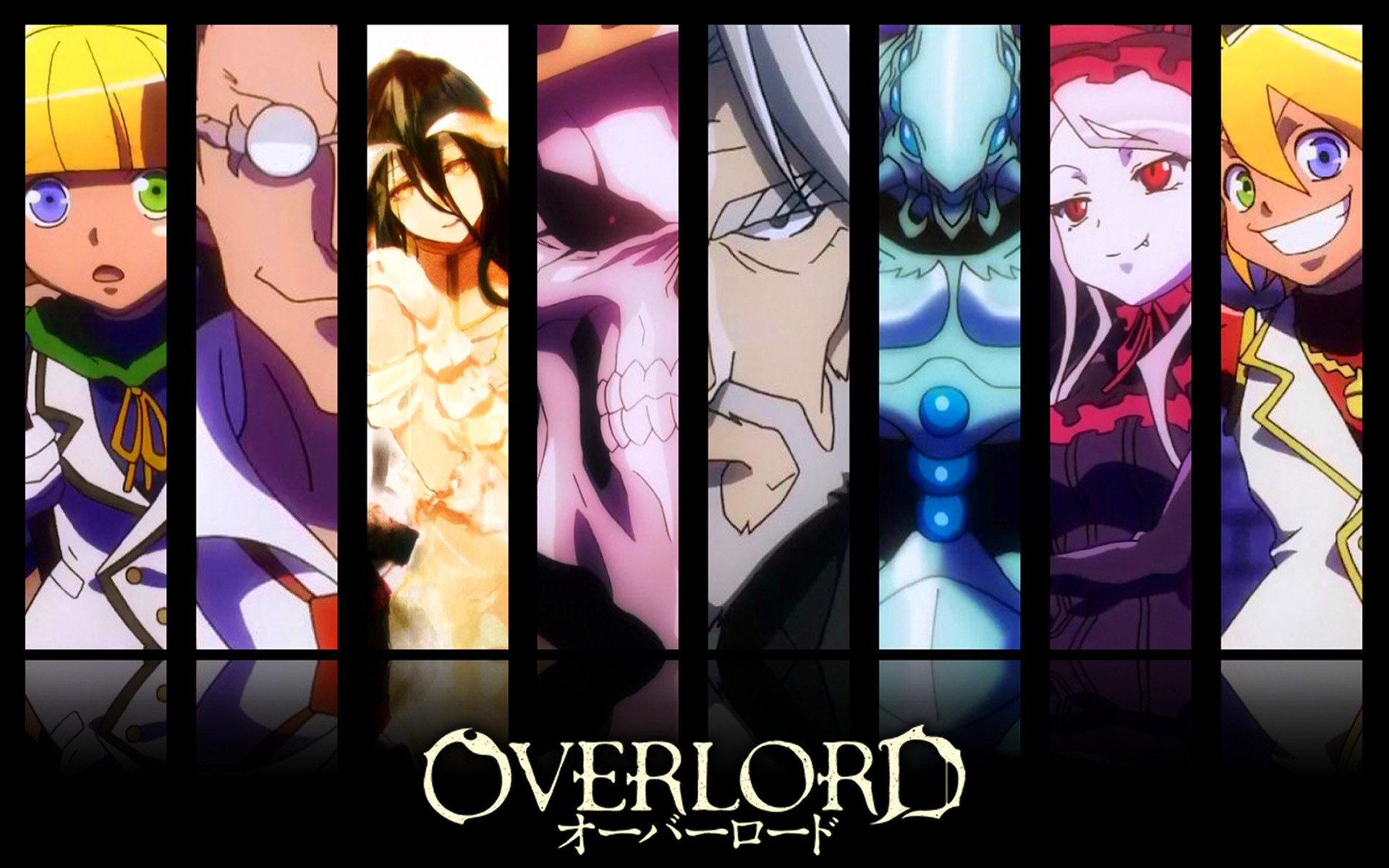 Anime – Overlord Overlord (Anime) Mare Bello Fiore Aura Bella Fiora  Shalltear Bloodfallen Demiurge