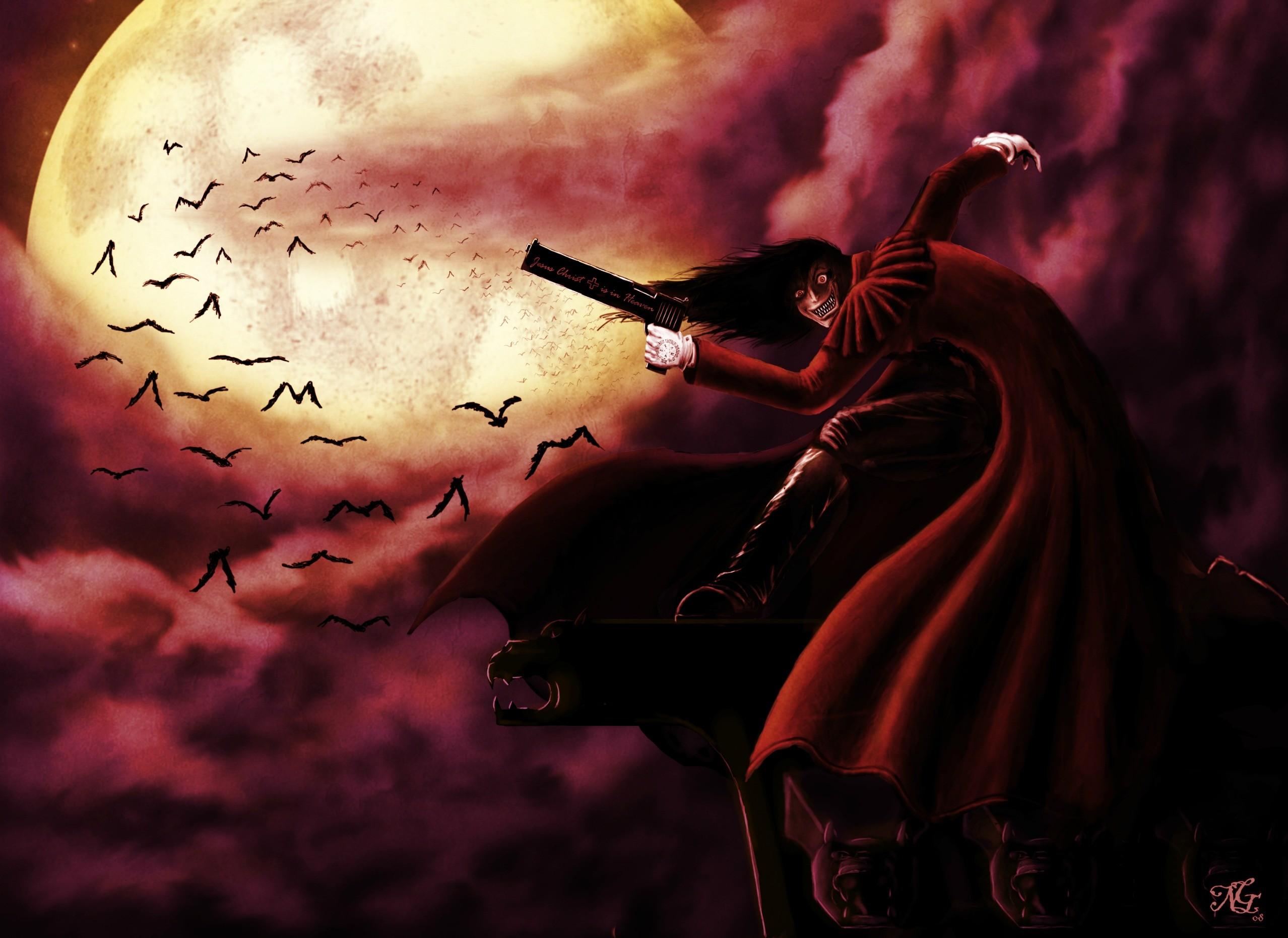 Hellsing Ultimate, Alucard, I belong to the night.