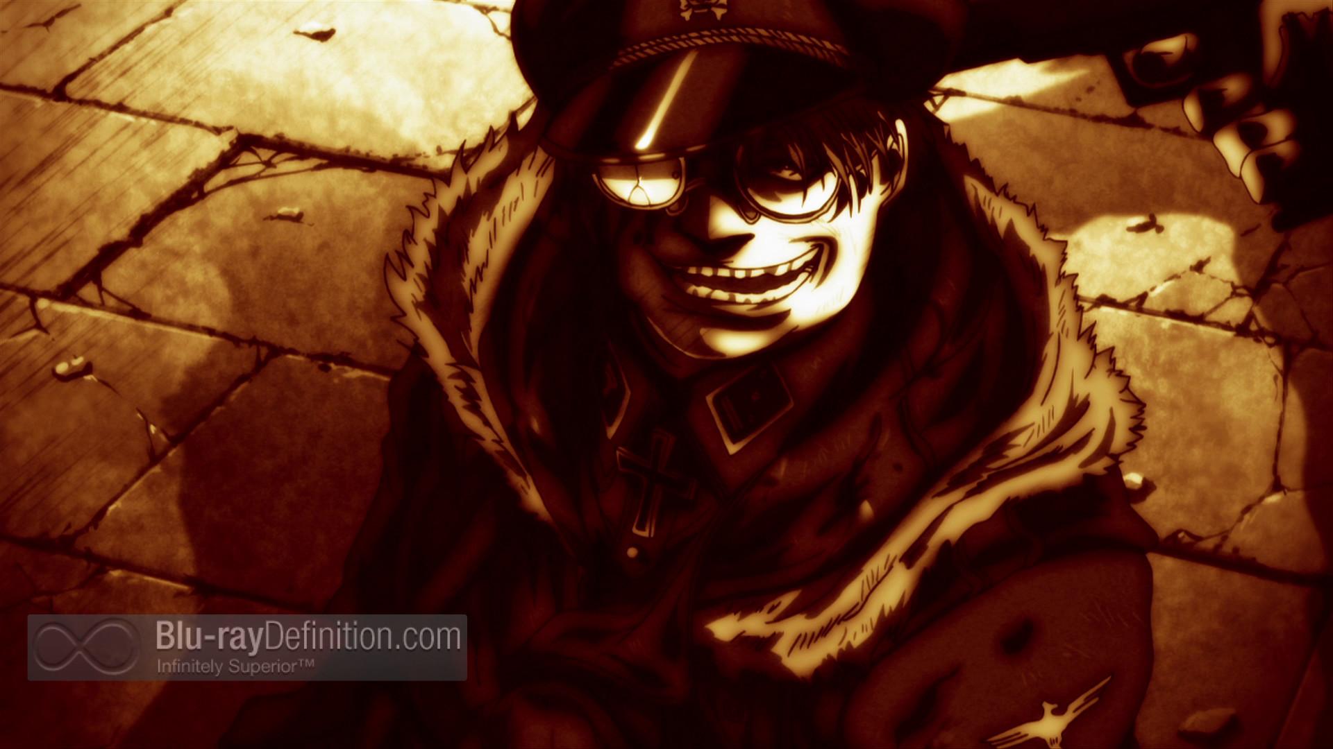 Hellsing Ultimate Volumes IX X Blu Ray Review