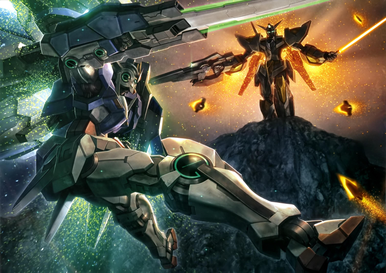 00_Raiser_vs_Reborns_Gundam | gundam illustrations | Pinterest | Gundam and  Anime