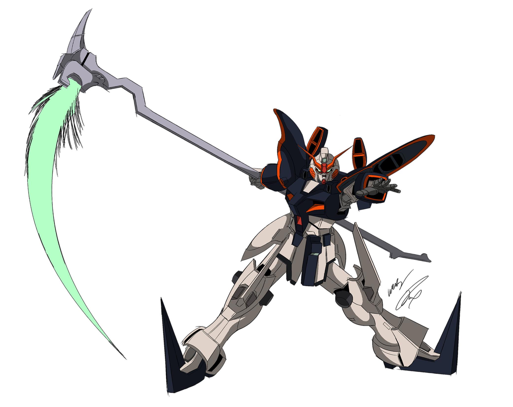 Gundam Deathscythe Color by GunZcon Gundam Deathscythe Color by GunZcon