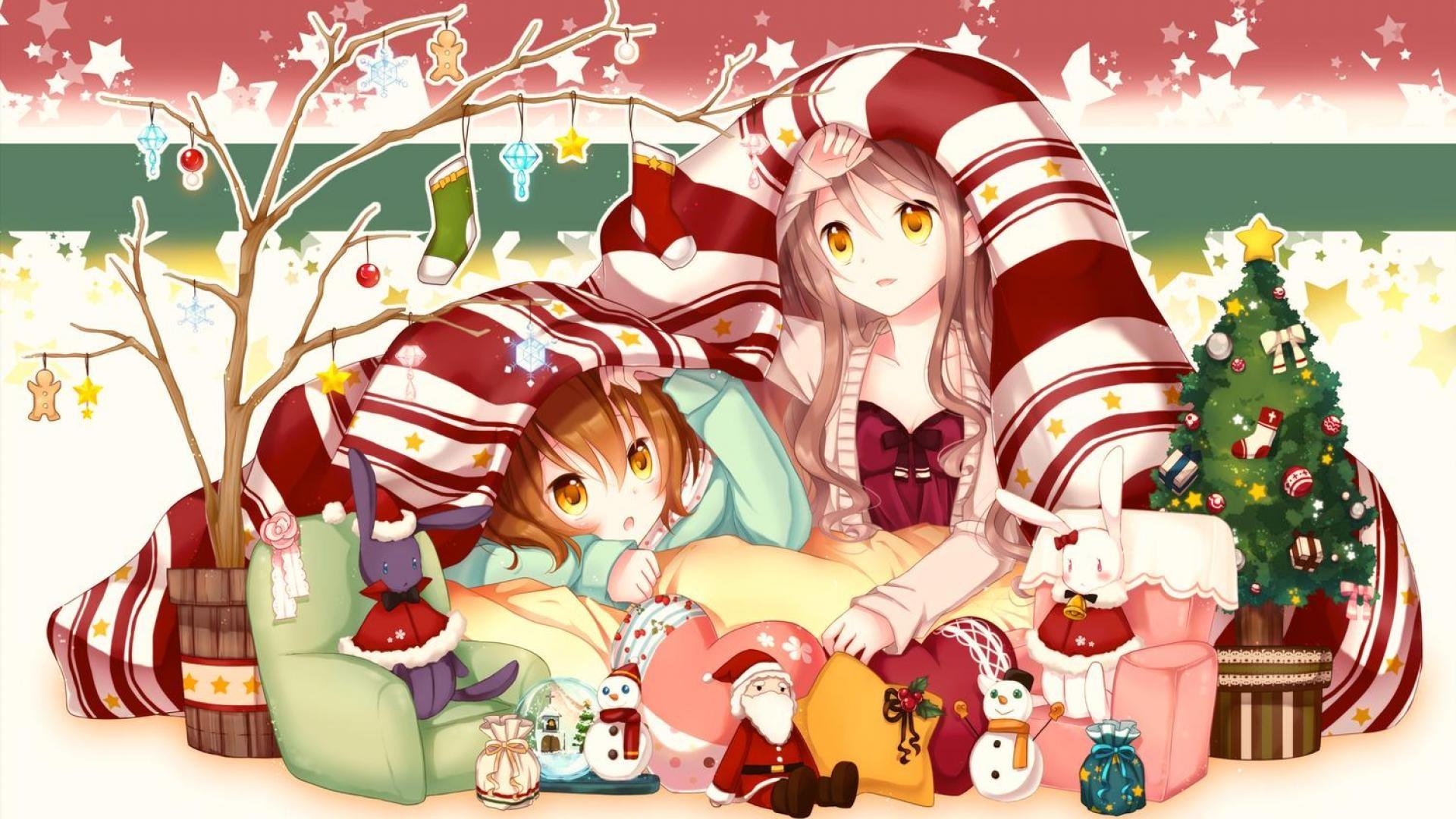 Anime Christmas Wallpapers Free download.