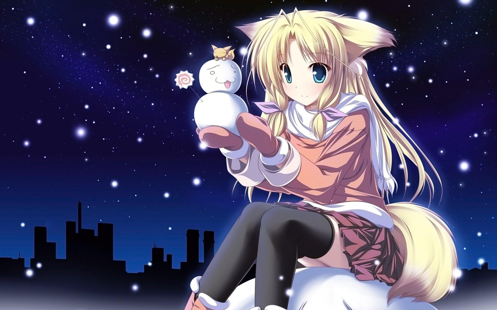 Christmas Anime Wallpaper 540843 …