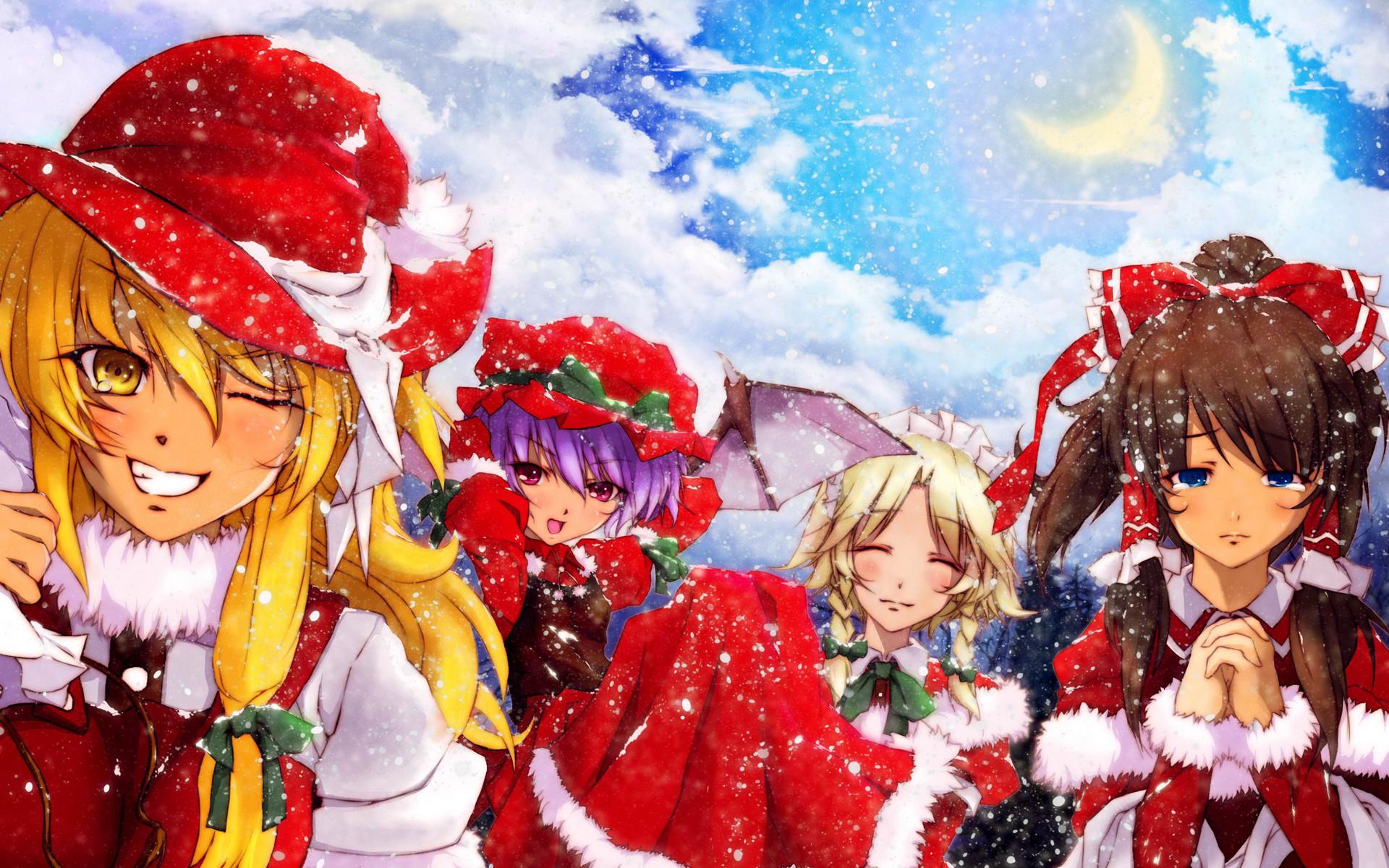 Christmas Anime Wallpapers #18563 Wallpaper   Wallpaper hd