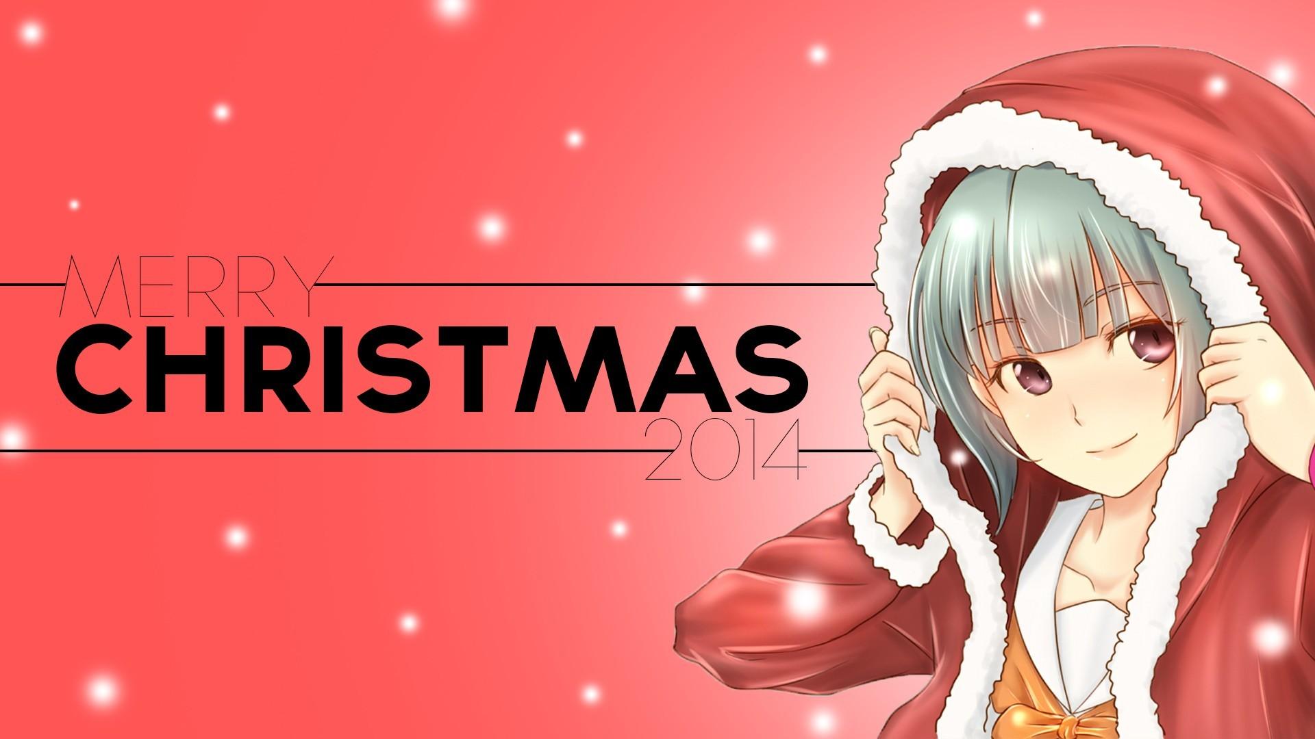 Christmas, Anime, Anime Girls, Kantai Collection, Yuubari (KanColle) Wallpapers  HD / Desktop and Mobile Backgrounds