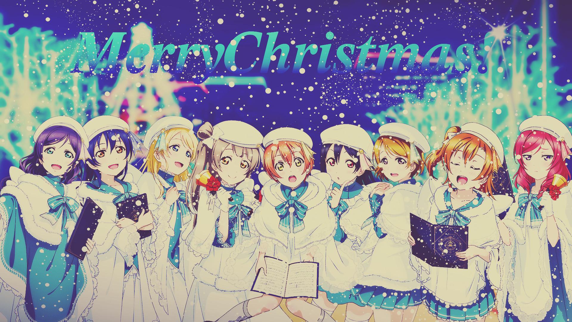 Anime – Christmas Wallpaper