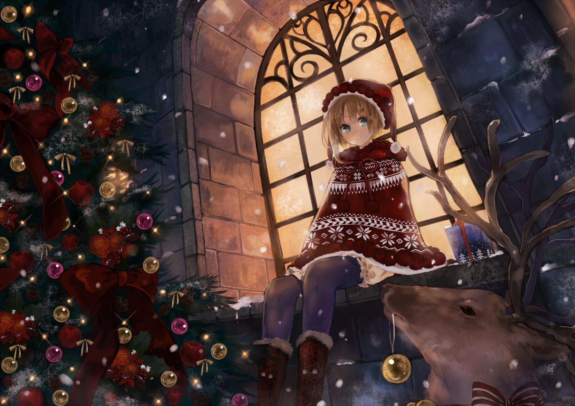 … Anime Christmas Wallpaper 71 Christmas Hd Wallpapers Backgrounds  Wallpaper Ass …
