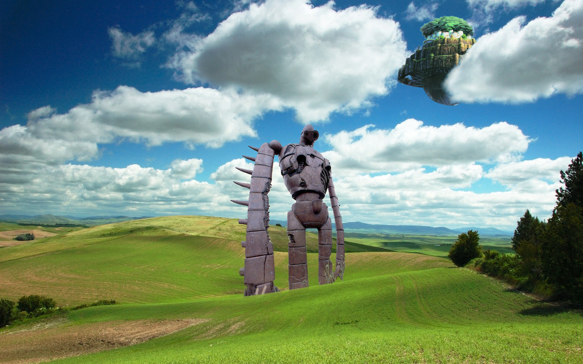 … Castle in the Sky Wallpaper by Shadowed2Blitz