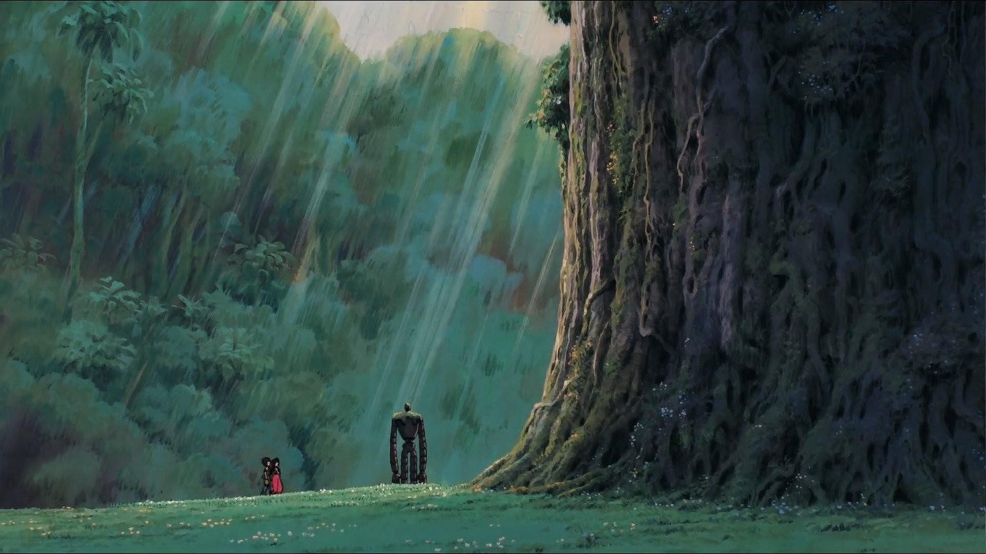 Studio Ghibli Castle In The Sky Robots 104995 …