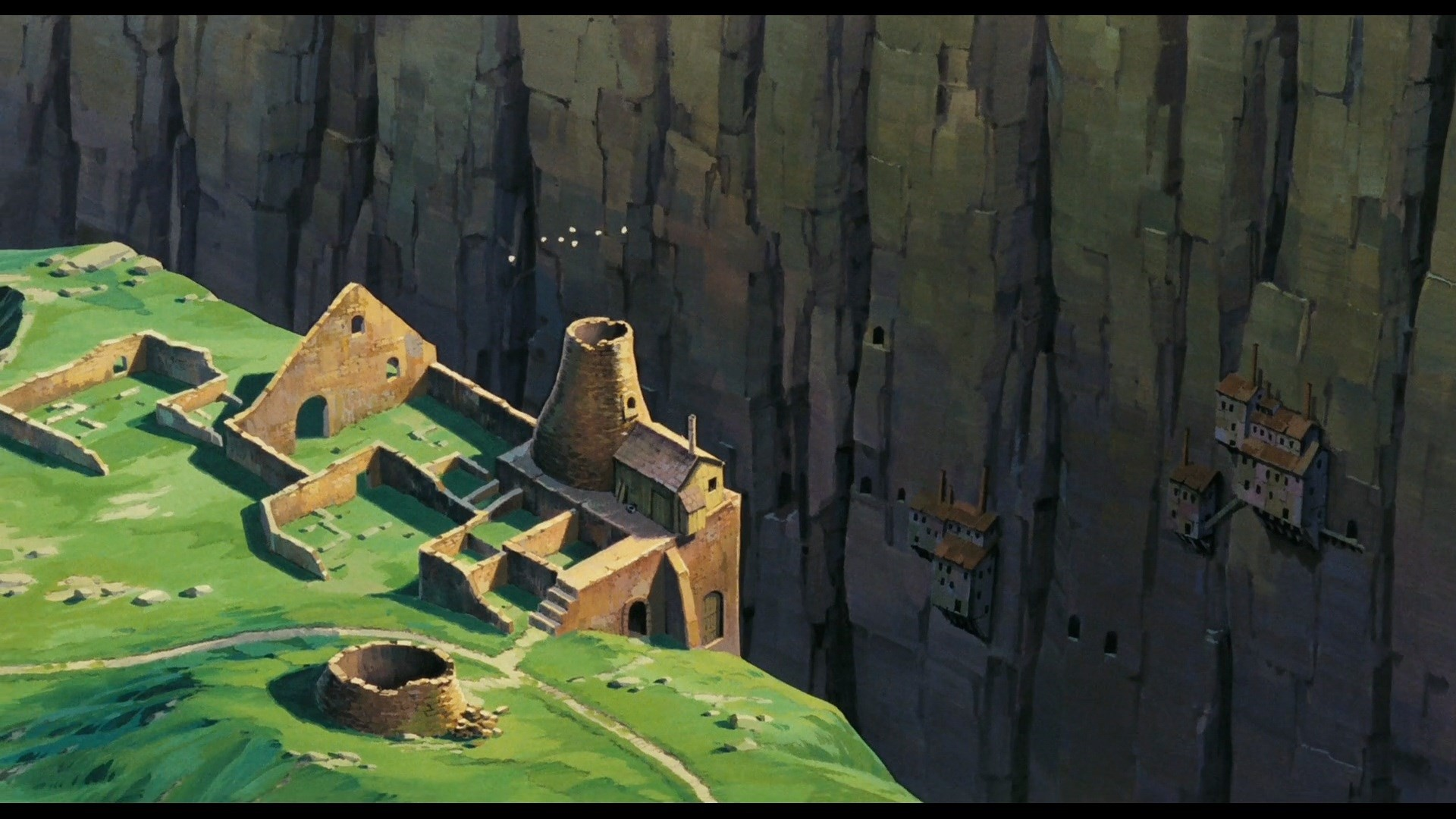 laputa castle in the sky : High Definition Background