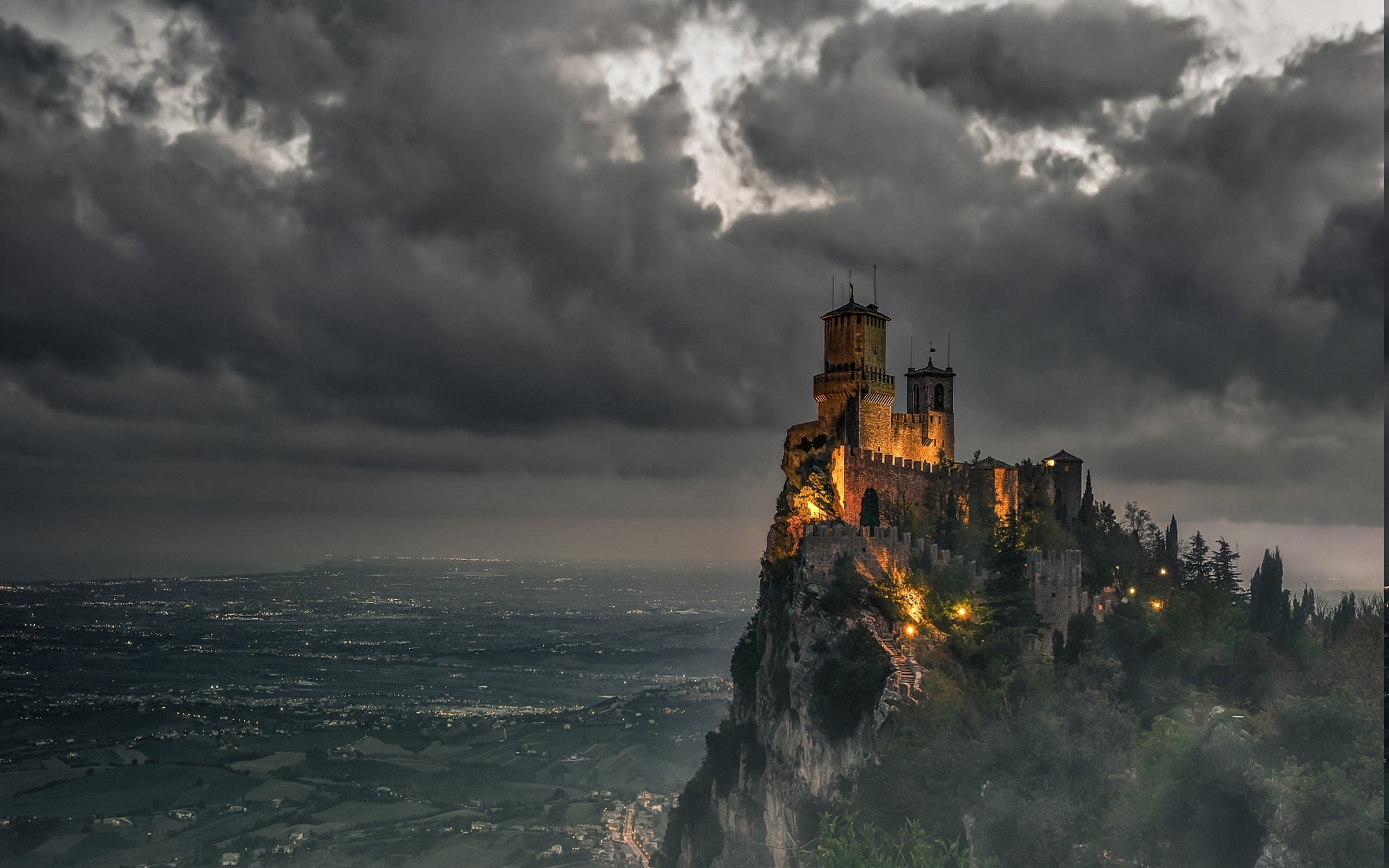 Pics For e Cartoon Dark Castle Background ArmoniaRelated HD