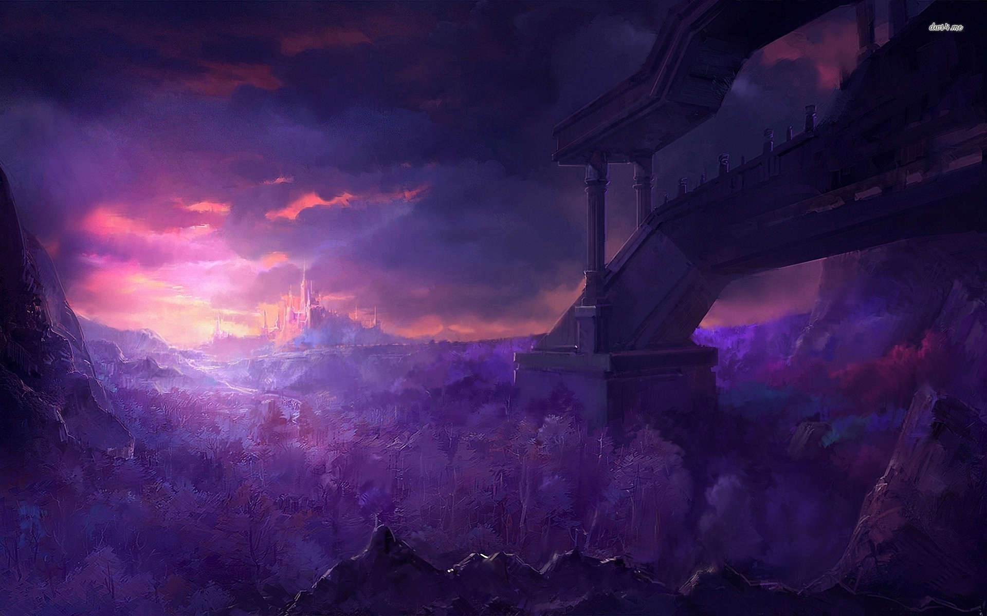 Image – Castle-under-the-purple-sky-fantasy-hd-wallpaper-70872.jpg    Creepypasta Wiki   FANDOM powered by Wikia