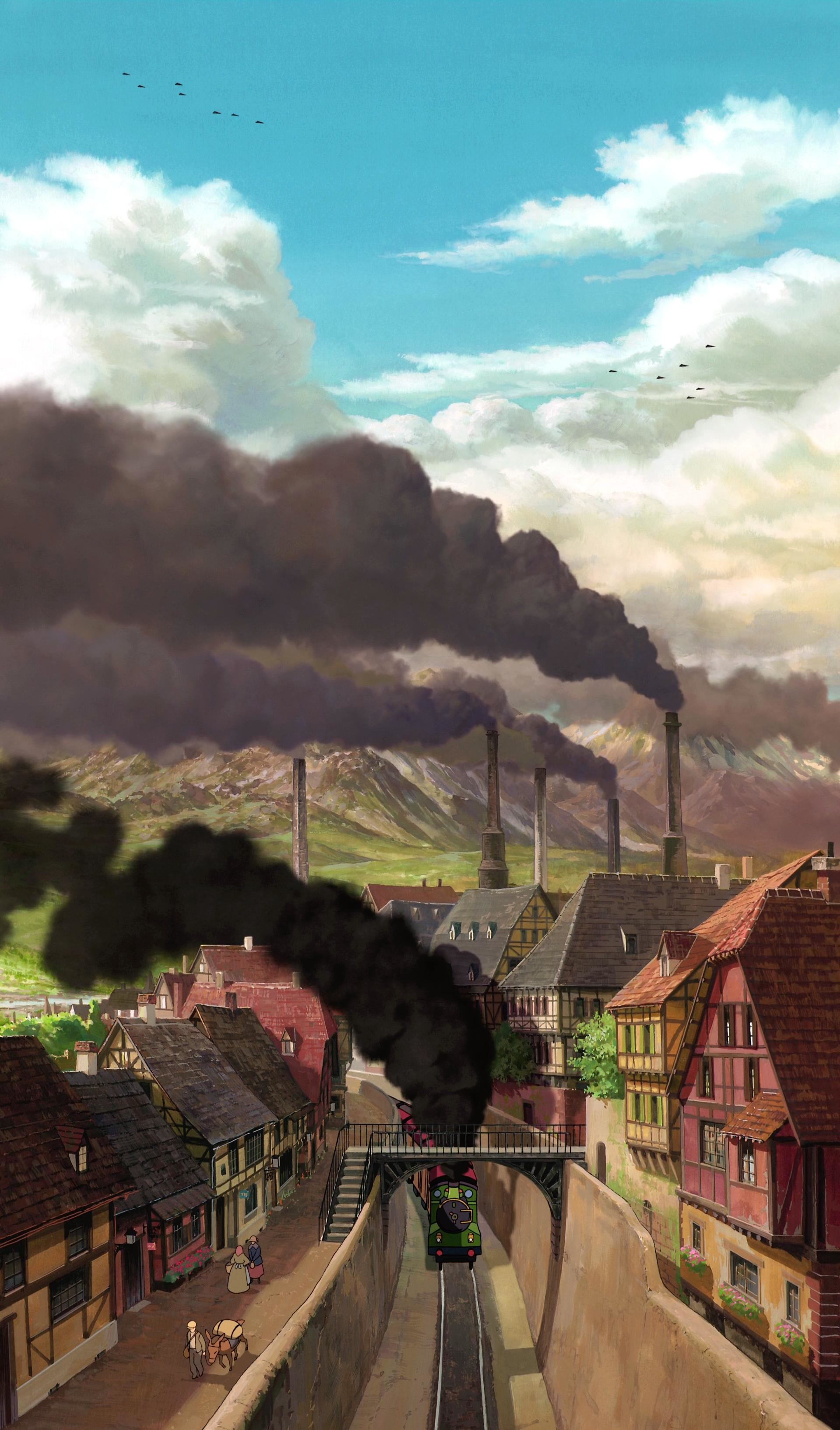 100 Studio Ghibli wallpapers