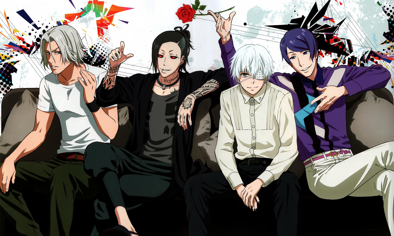 Tags: Anime, Studio Pierrot, Tokyo Kushu, Tsukiyama Shuu, Uta (Tokyo
