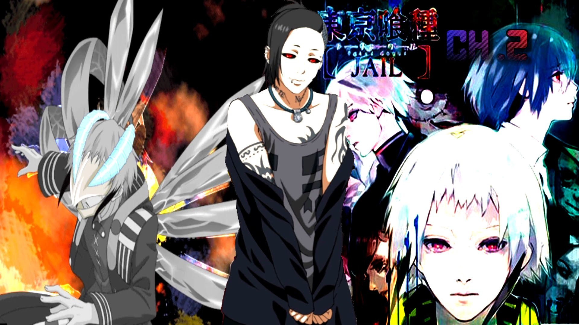 Tokyo Ghoul: Jail Chapter 2 – UTA! & RIO'S MASK/KAGUNE! 東京喰種トーキョーグール Jail –  YouTube