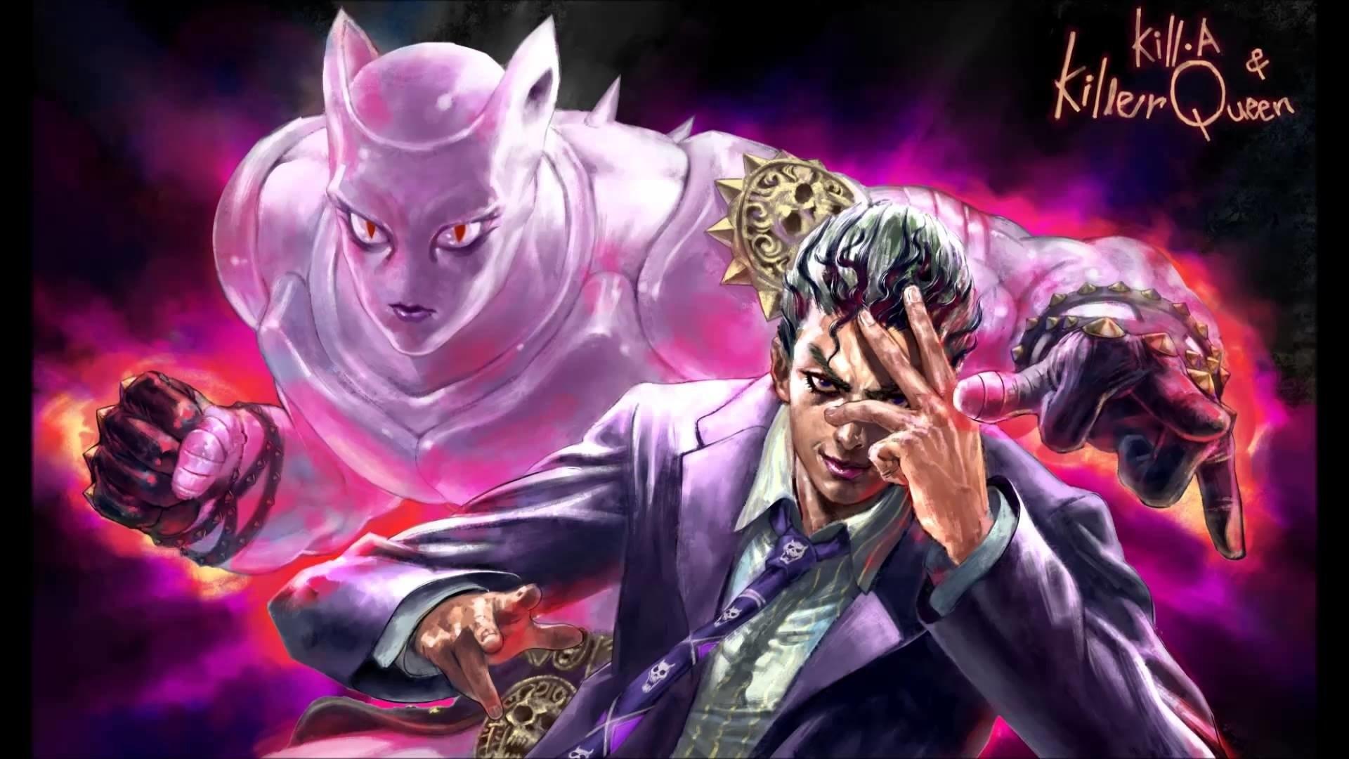 Anime – Jojo's Bizarre Adventure Kosaku Kawajiri Yoshikage Kira Killer  Queen (Jojo's Bizarre Adventure)