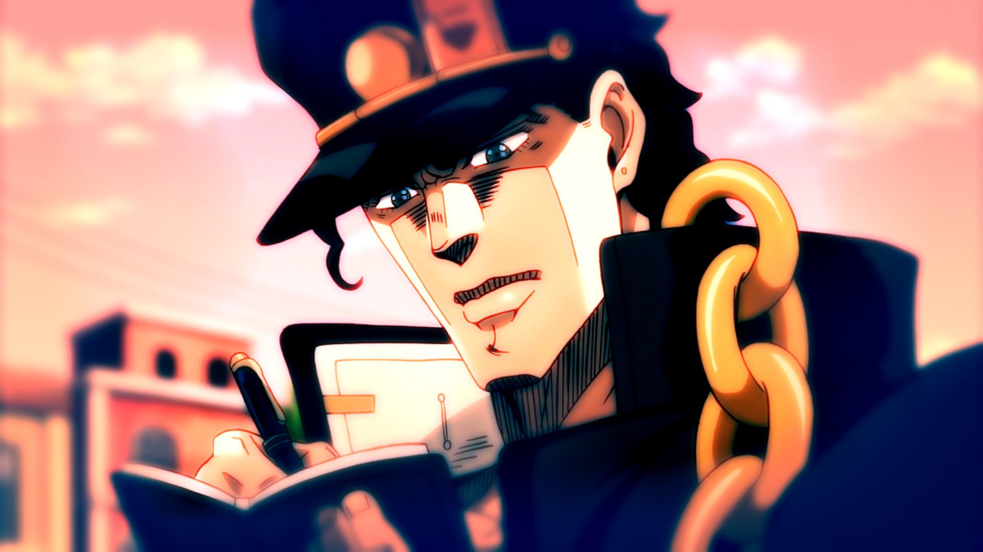 Anime – Jojo's Bizarre Adventure Jotaro Kujo Bakgrund