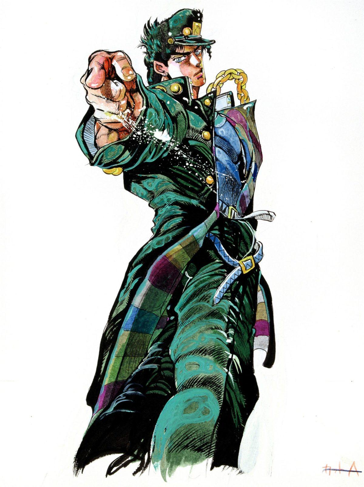 Jotaro Kujo Jojo S Bizarre Adventure Stardust Crusaders