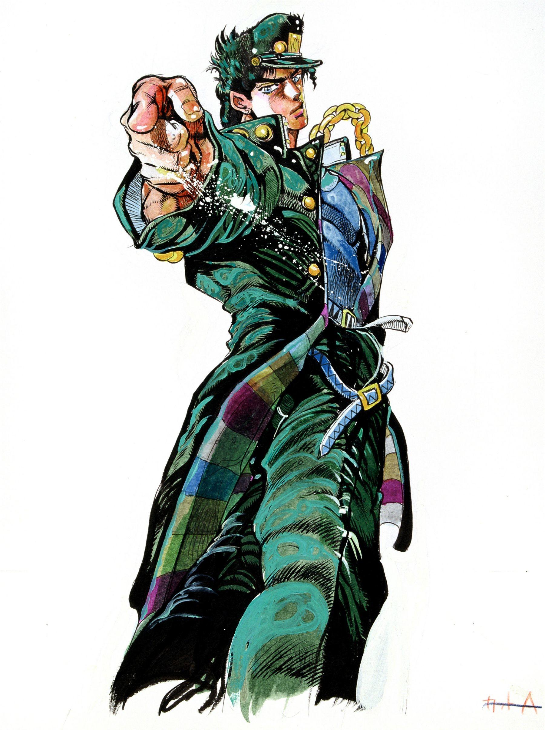 Jotaro Kujo – Jojo's Bizarre Adventure : Stardust Crusaders