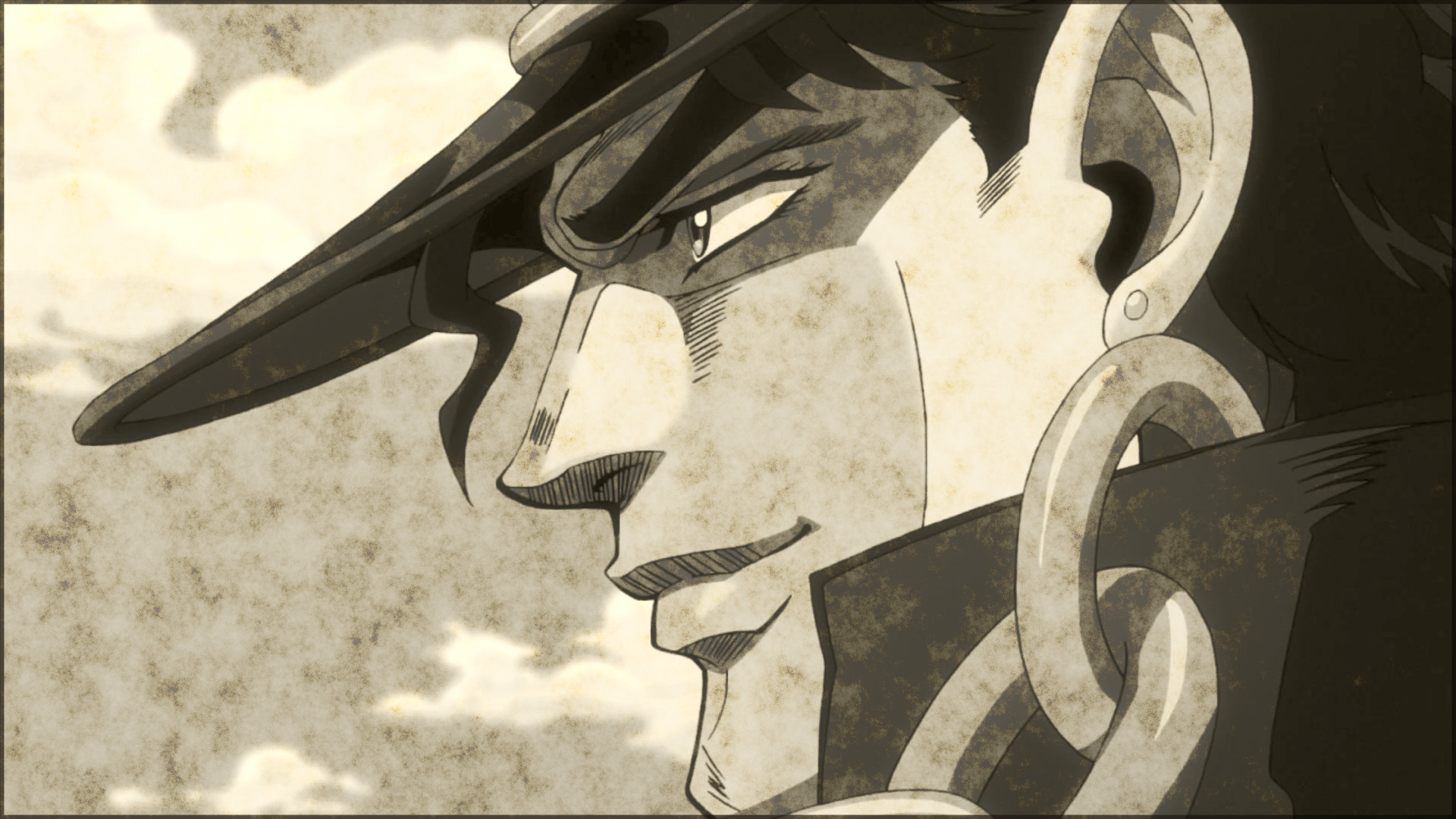 Anime – Jojo's Bizarre Adventure Jotaro Kujo Wallpaper