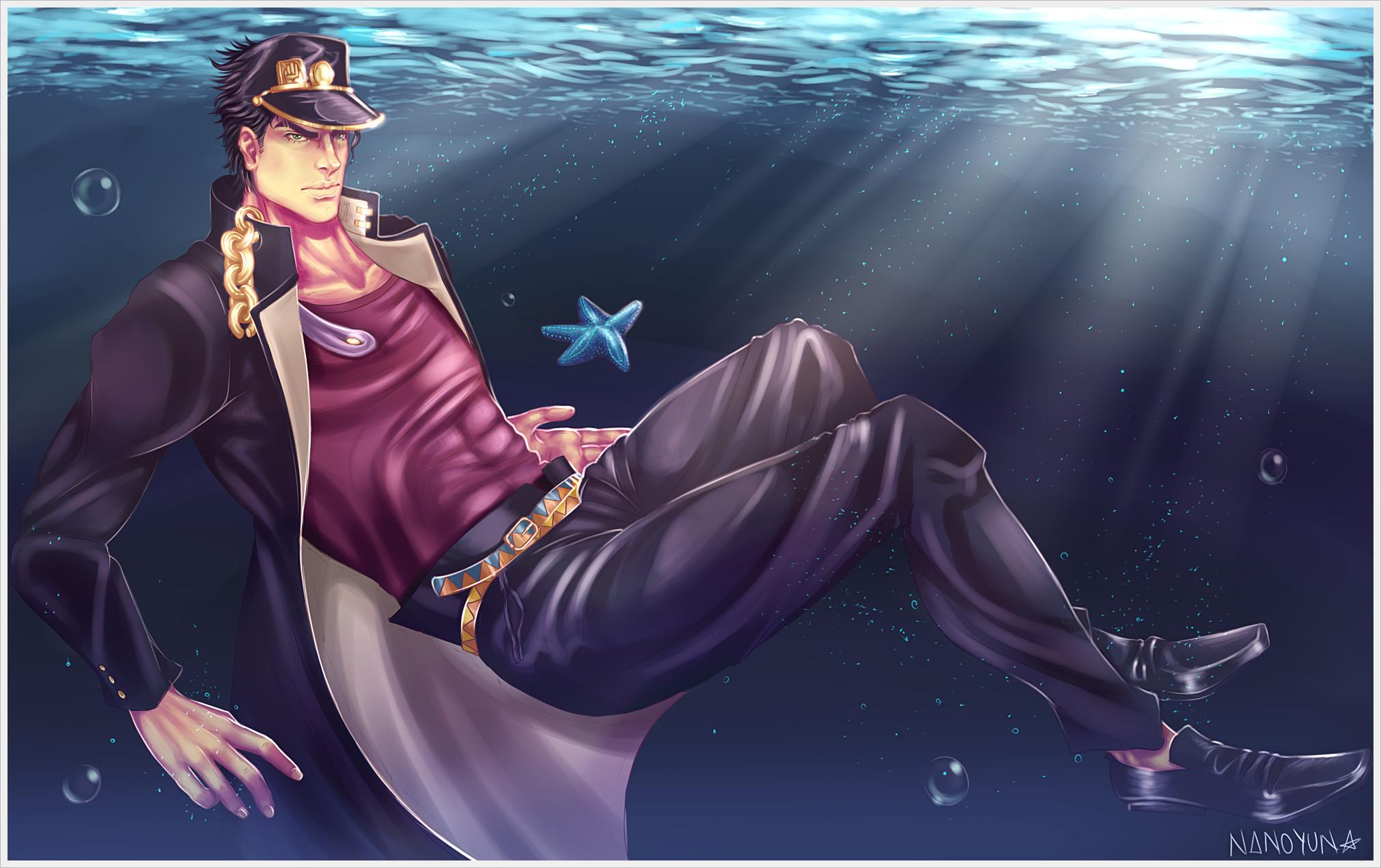 … Jotaro Kujo – In the Sea by lNAN0