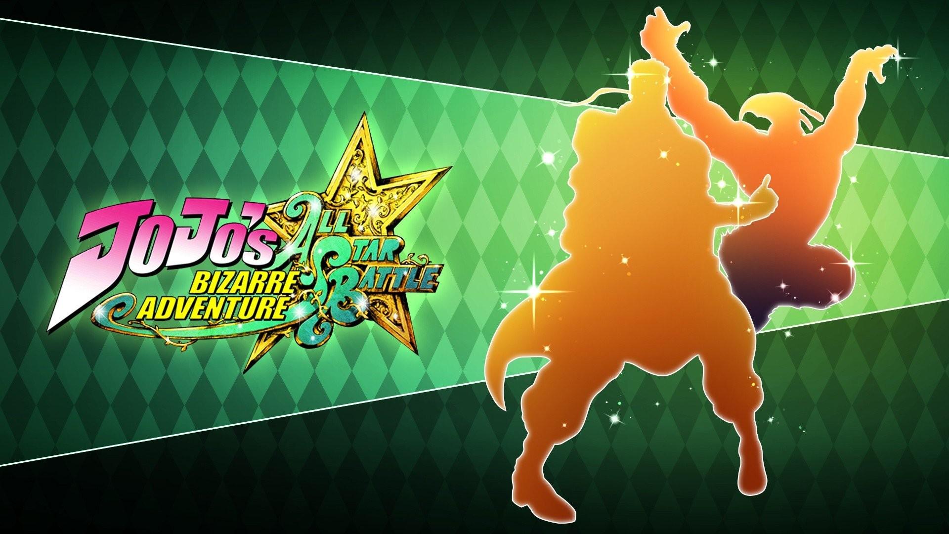 Jojo's Bizarre Adventure All Star Battle Mohammed Advol Magician's Red Jotaro  Kujo Platinum