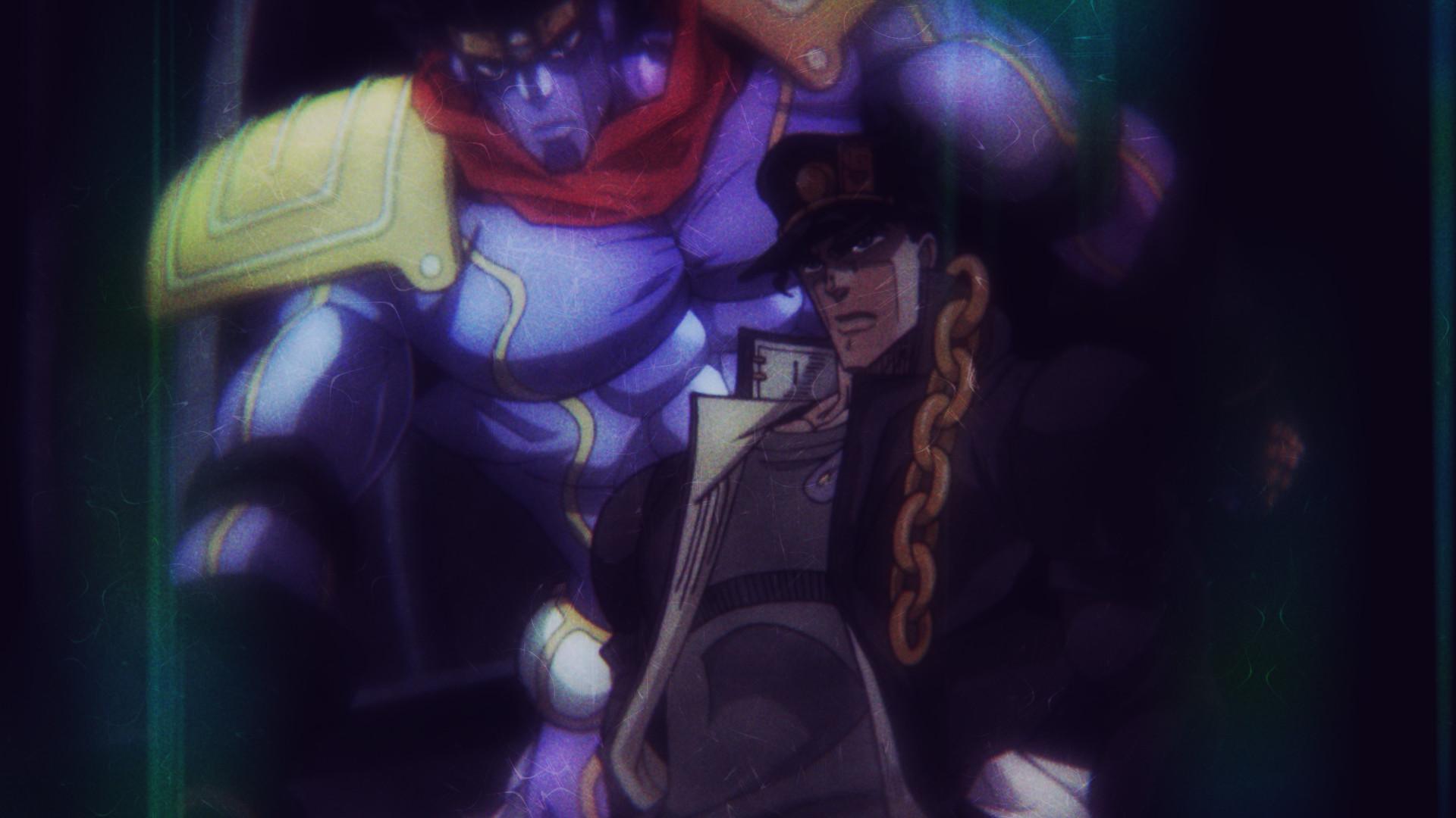 Anime – Jojo's Bizarre Adventure Jotaro Kujo Star Platinum (Jojo's Bizarre  Adventure) Wallpaper