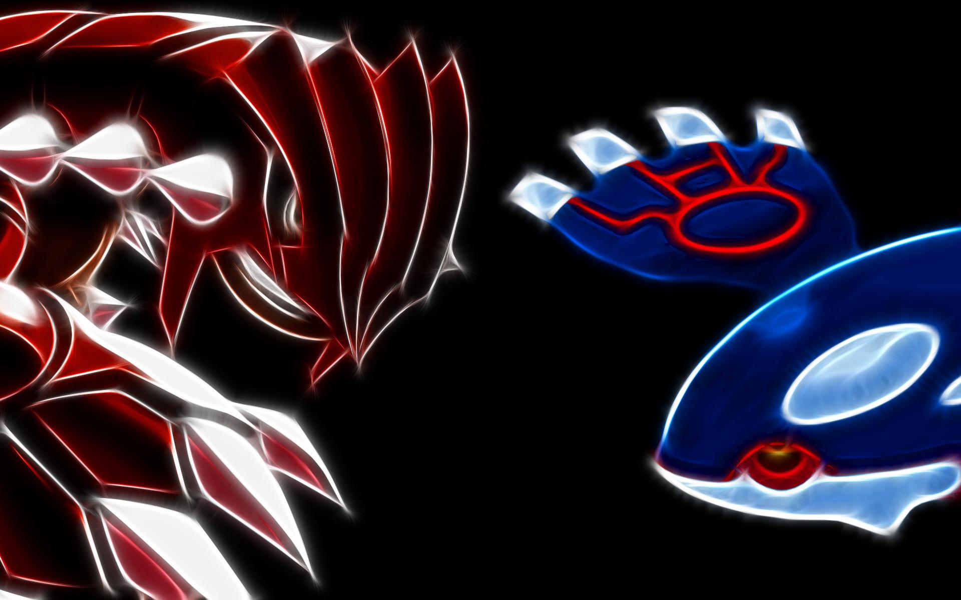 Groudon Vs Kyogre – Pokemon