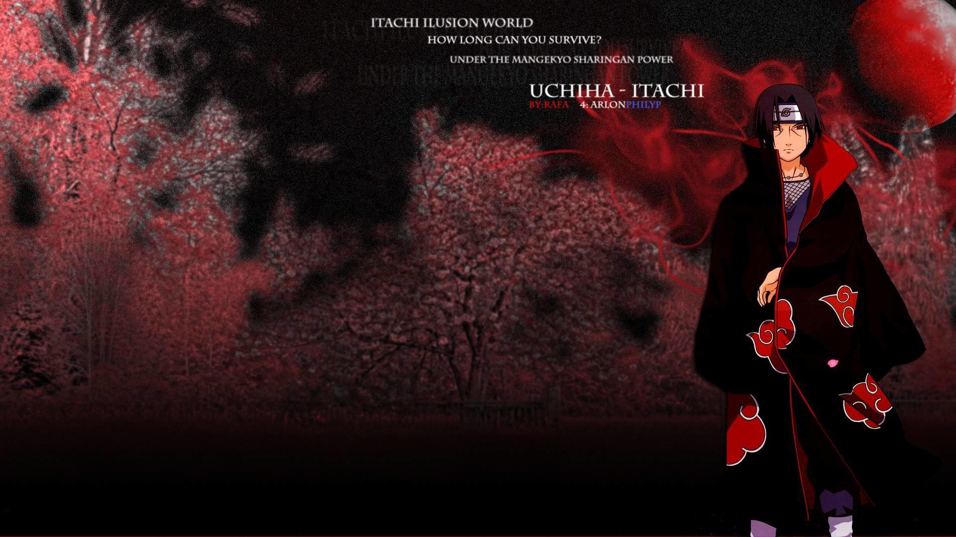 Wallpapers For > Uchiha Itachi Wallpaper 1920×1080