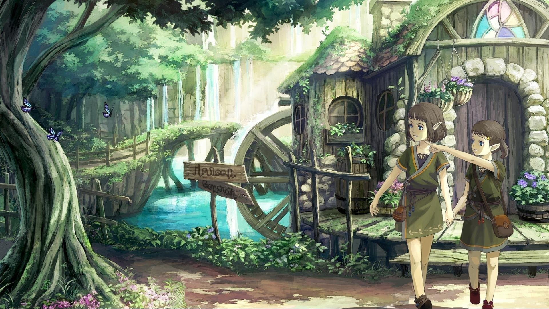 Anime Elves