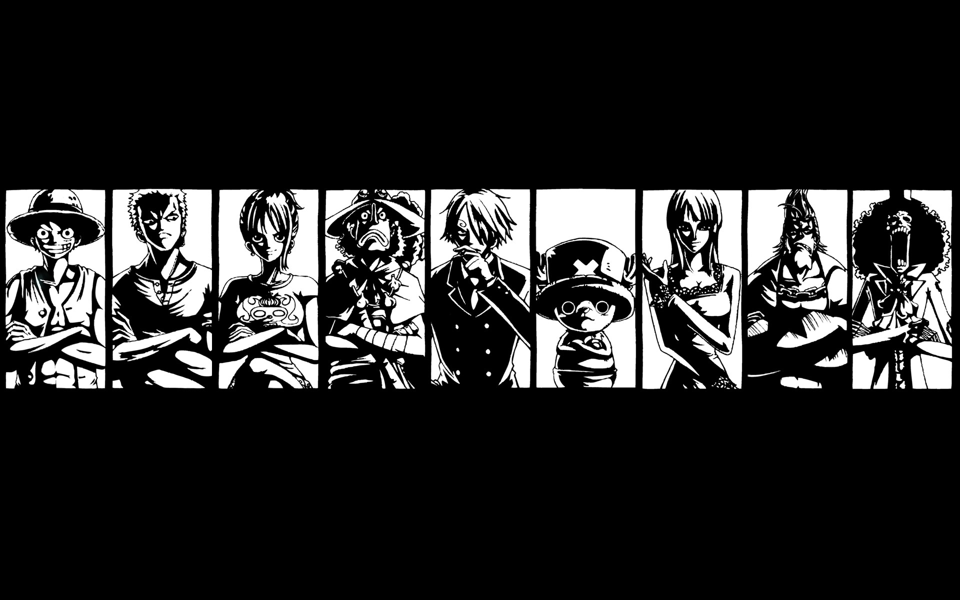 A bag of One Piece wallpapers.