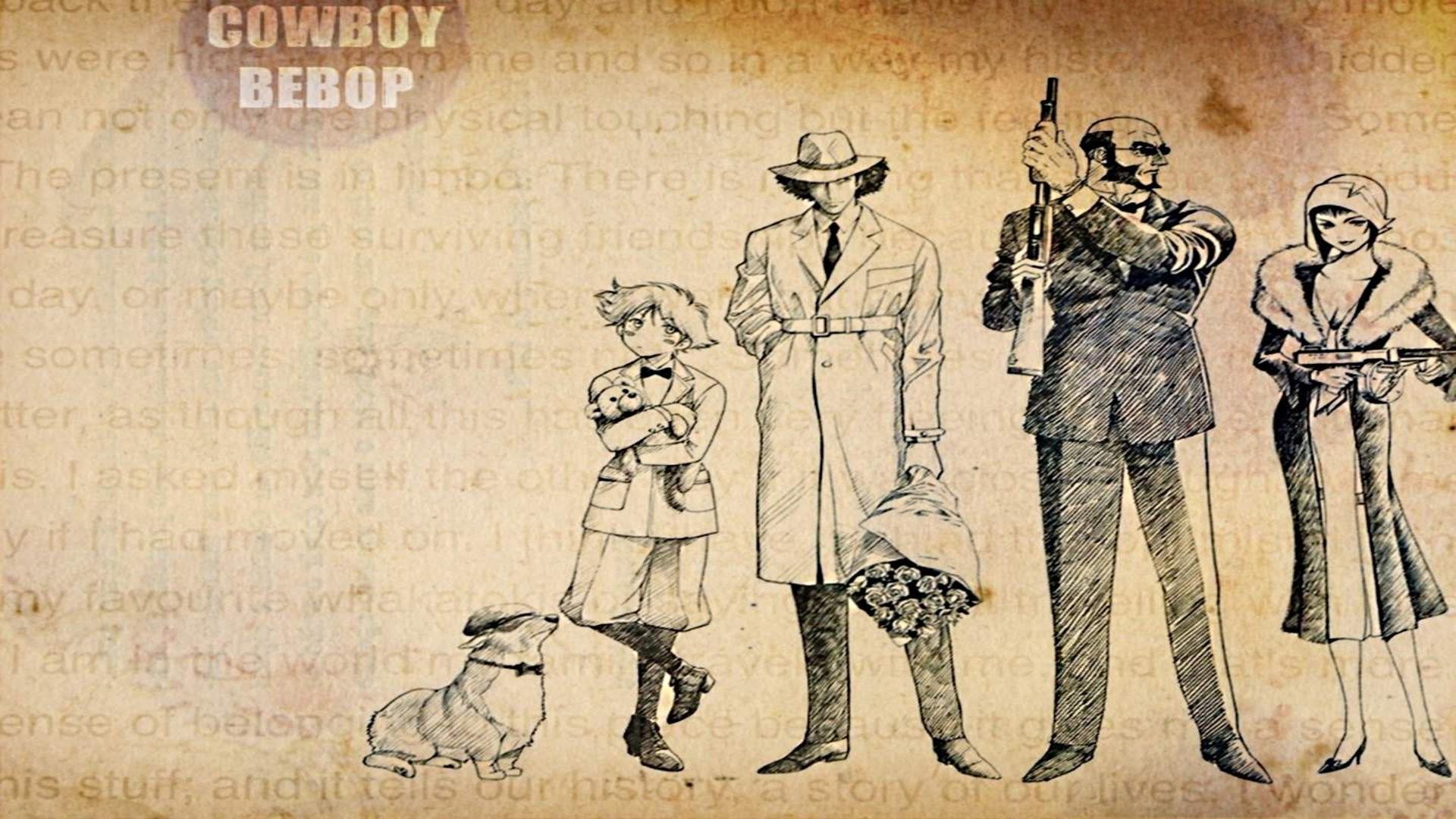 Cowboy Bebop Wallpapers Full HD 1920×1080