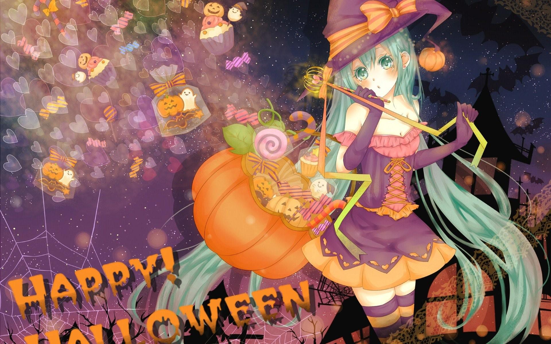 Anime Halloween 509394 WallDevil