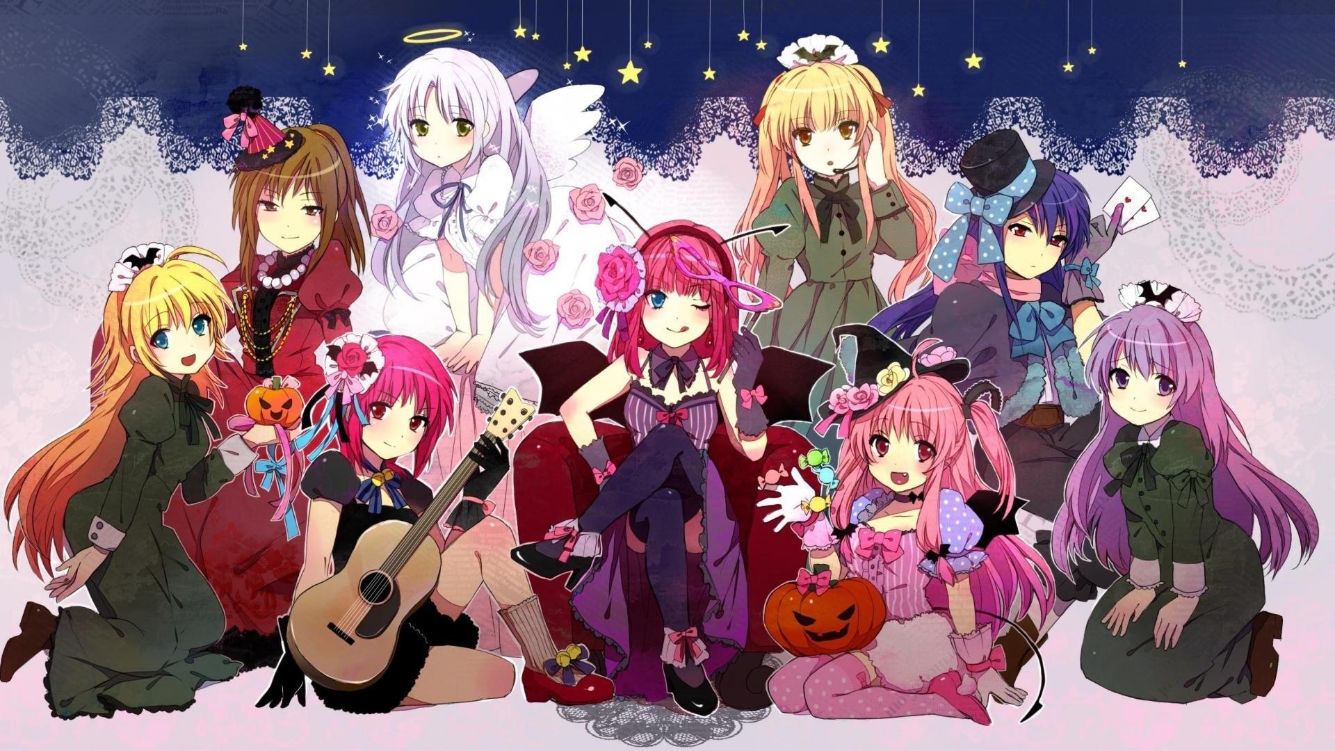 Angel Beats! wallpapers halloween