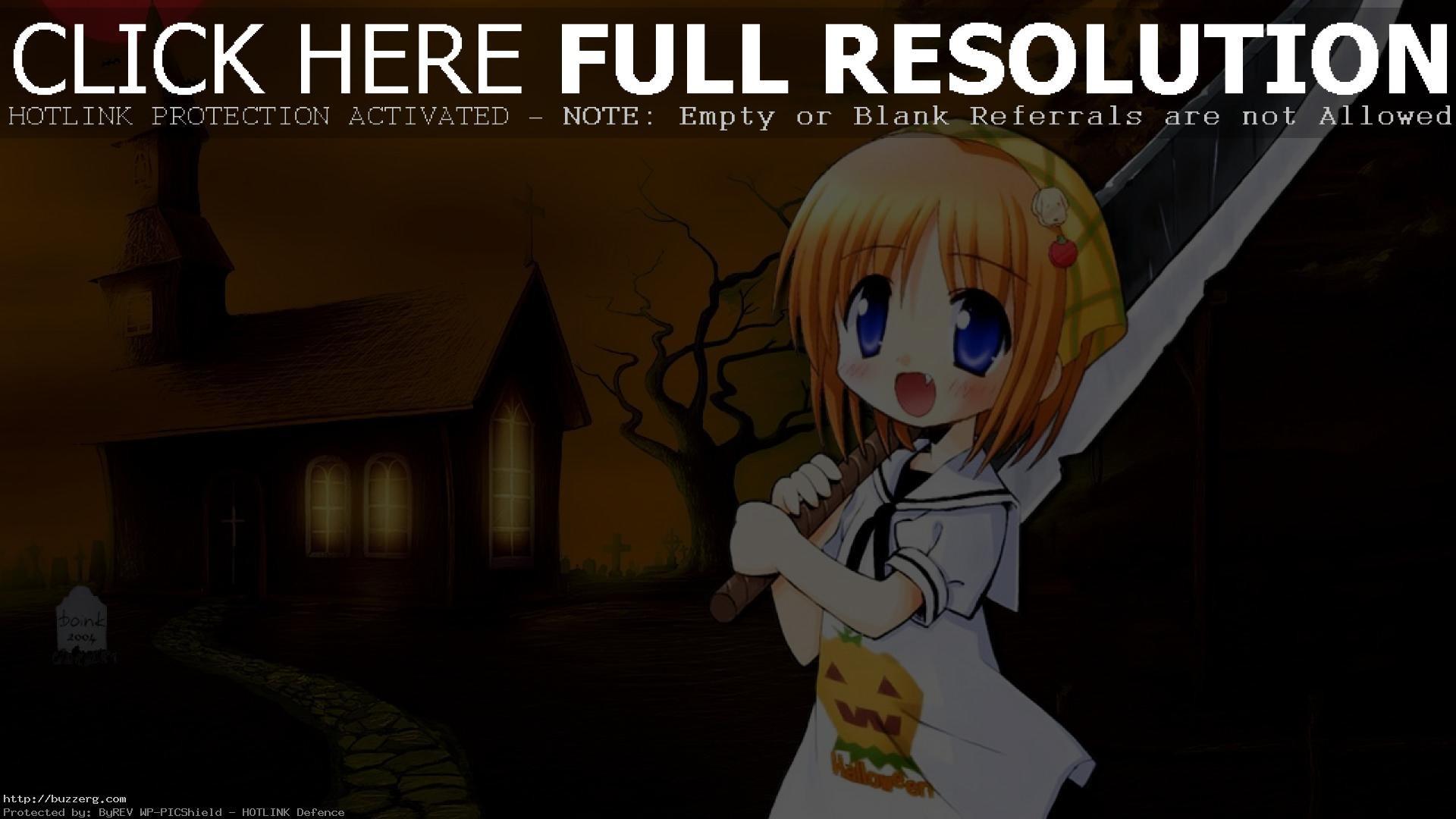 Halloween Anime Girl (id: 24408)