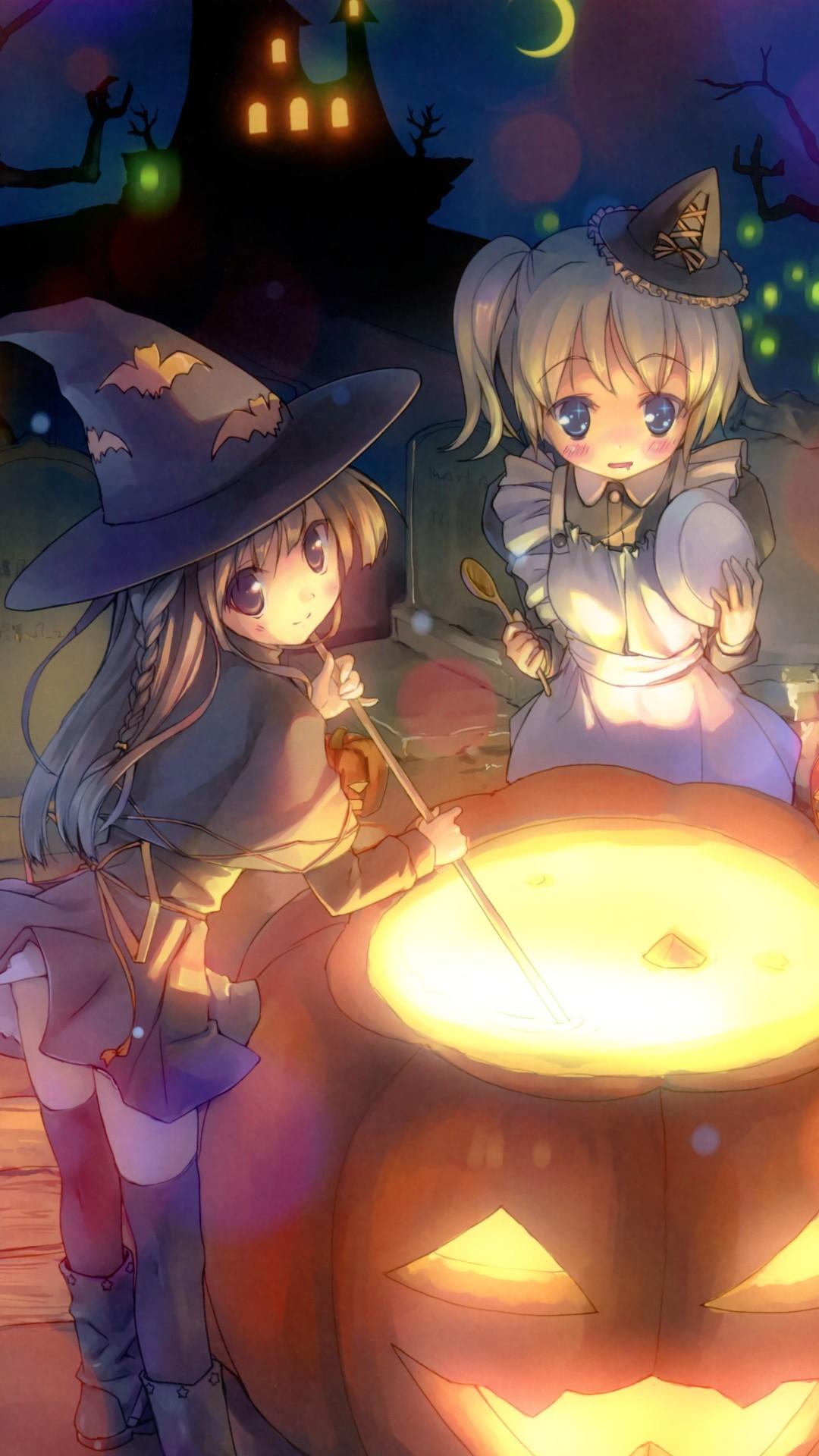 Anime Halloween 2013.Magic THL W9 wallpaper.1080×1920