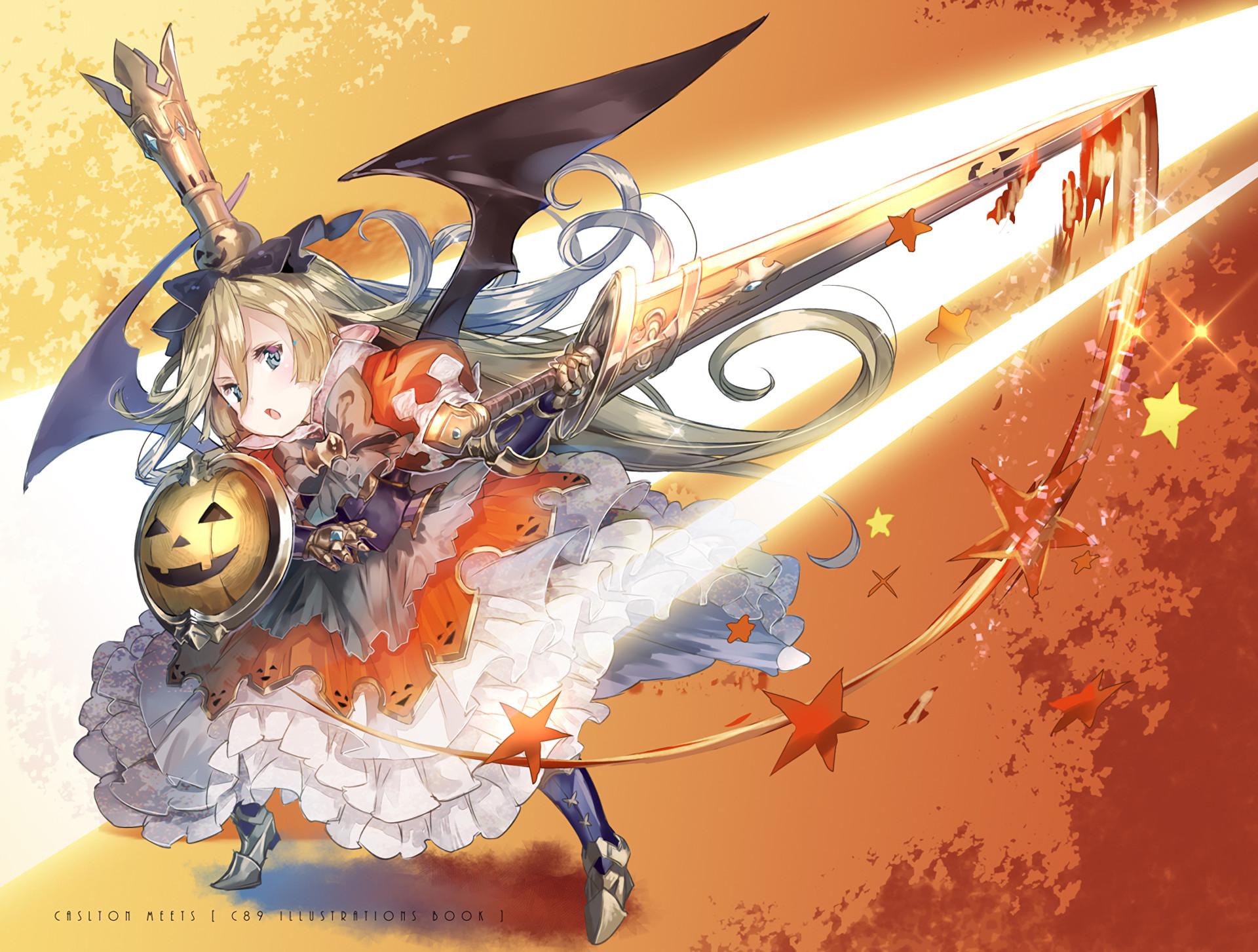 Anime Granblue Fantasy Charlotta (Granblue Fantasy) Halloween Wallpaper