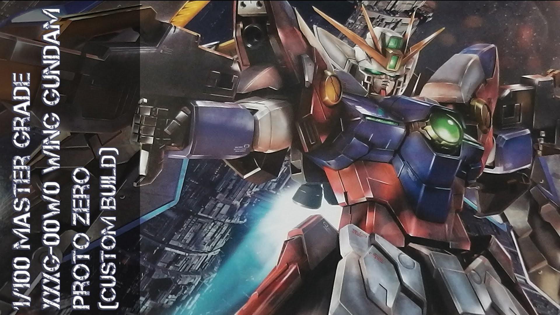 MG XXXG-00W0 Wing Gundam Proto Zero – Folge 04: Fertige Modell – YouTube