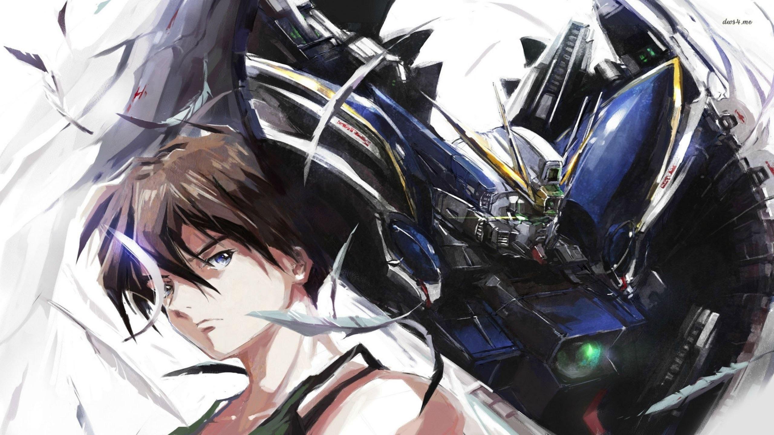 「AMV」Gundam Wing -「Be Somebody」 – YouTube