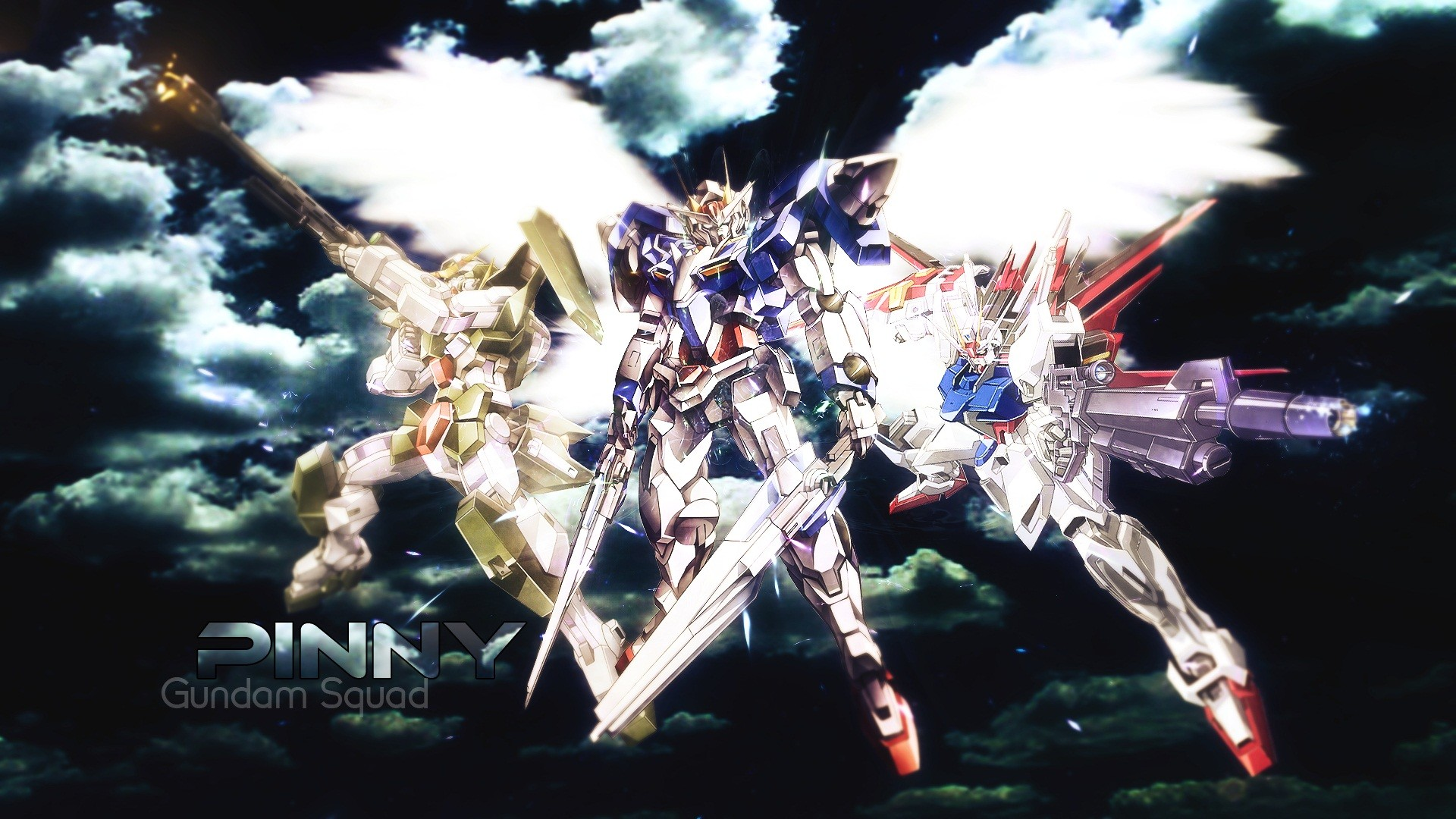 Tags: Anime, Mobile Suit Gundam Wing, HD Wallpaper, Fanmade Wallpaper,  Edited
