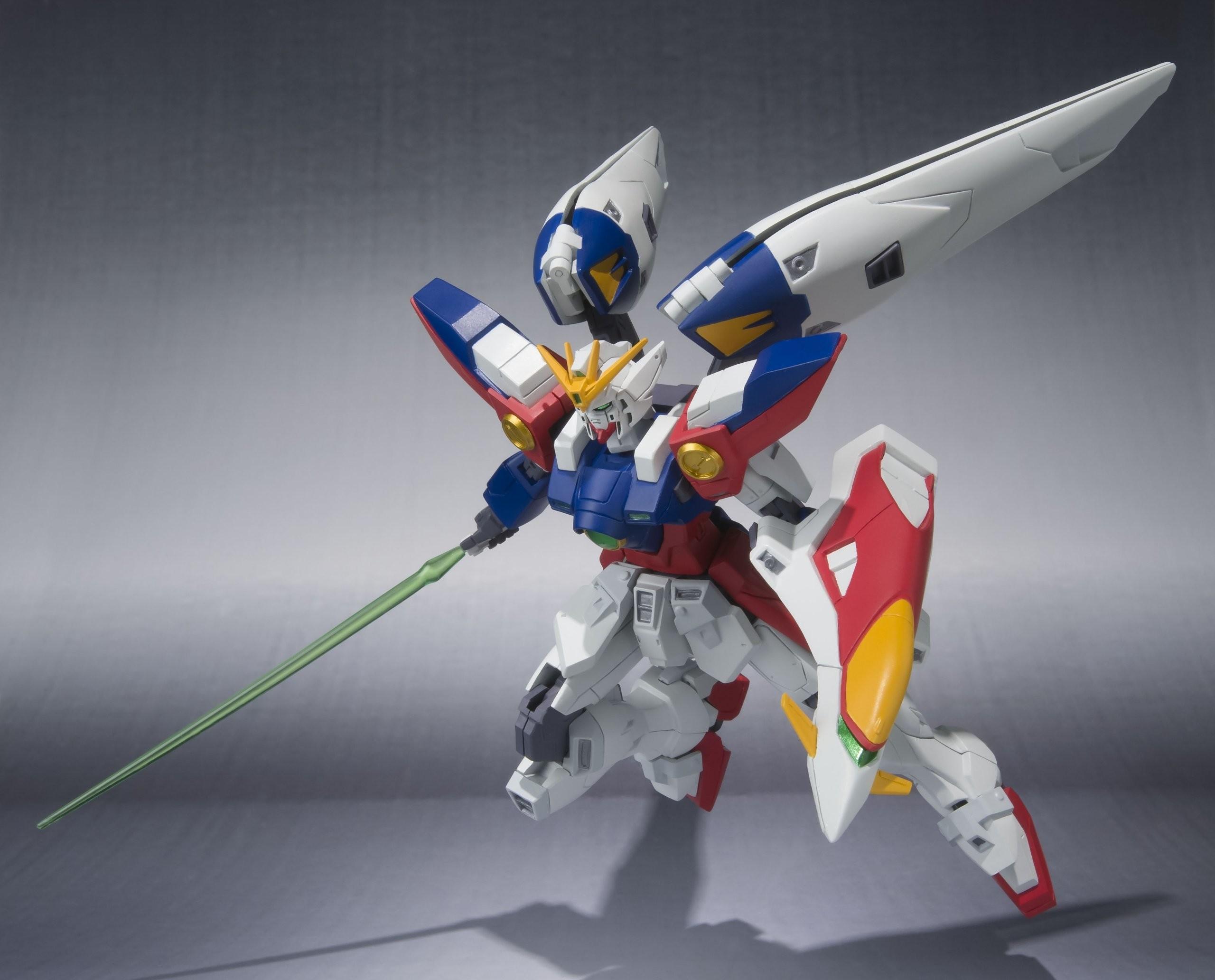 … Wing Gundam Zero: Official Wallpaper Size Images. ROBOT …