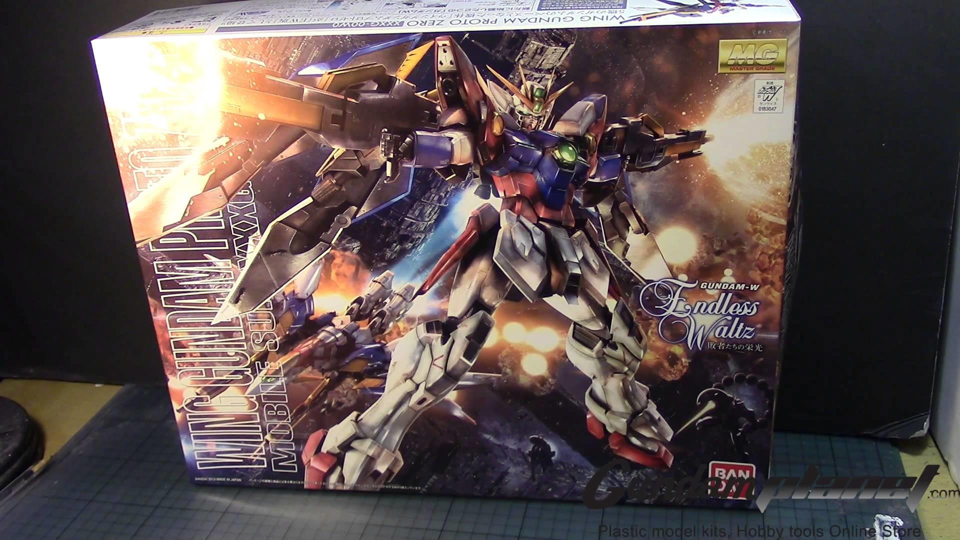 *GundamCustom* 1/100 MG Gundam Wing Proto Zero Custom – Part 1 – YouTube