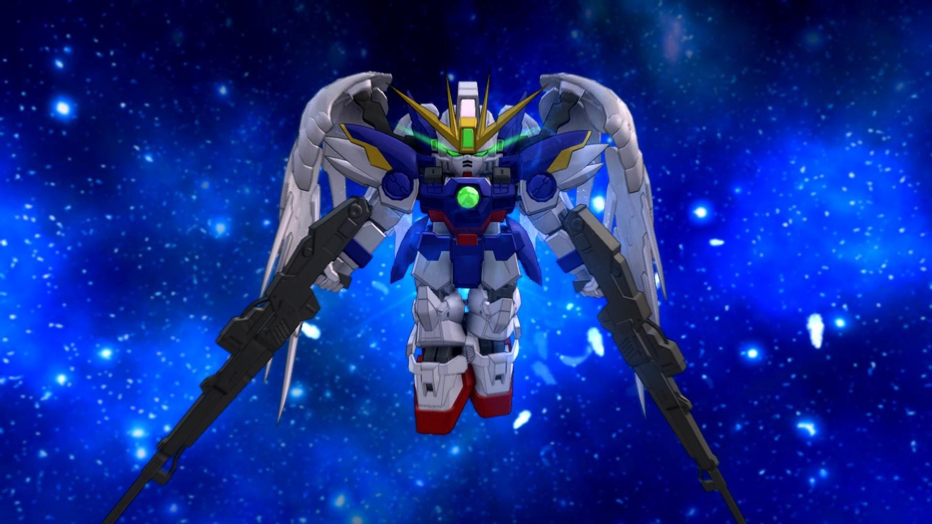 SD Gundam Next Evolution – Wing Gundam Zero (EW) [SDGN/Newtype] – YouTube