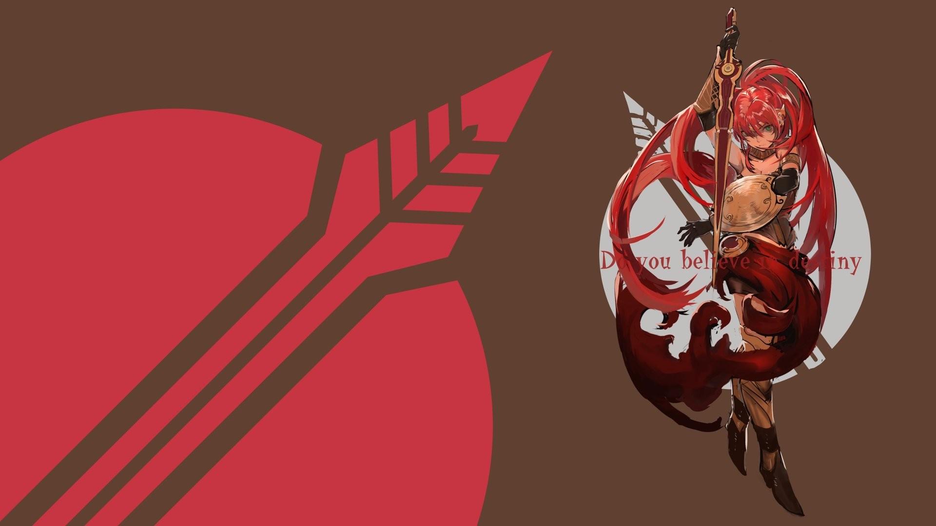 Anime – RWBY Pyrrha Nikos Wallpaper