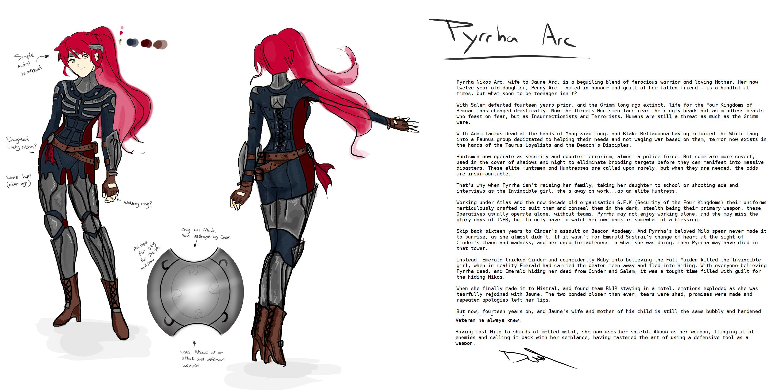 … DavidEllisArtwork Pyrrha Nikos Arc – Stealth suit Concept by  DavidEllisArtwork