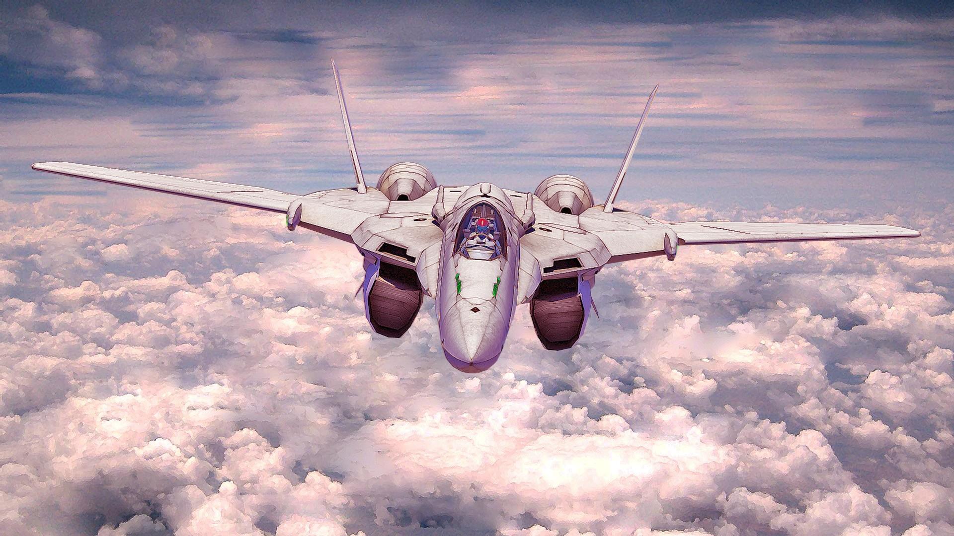 macross | Macross Frontier jet plane | Sky Wallpapers